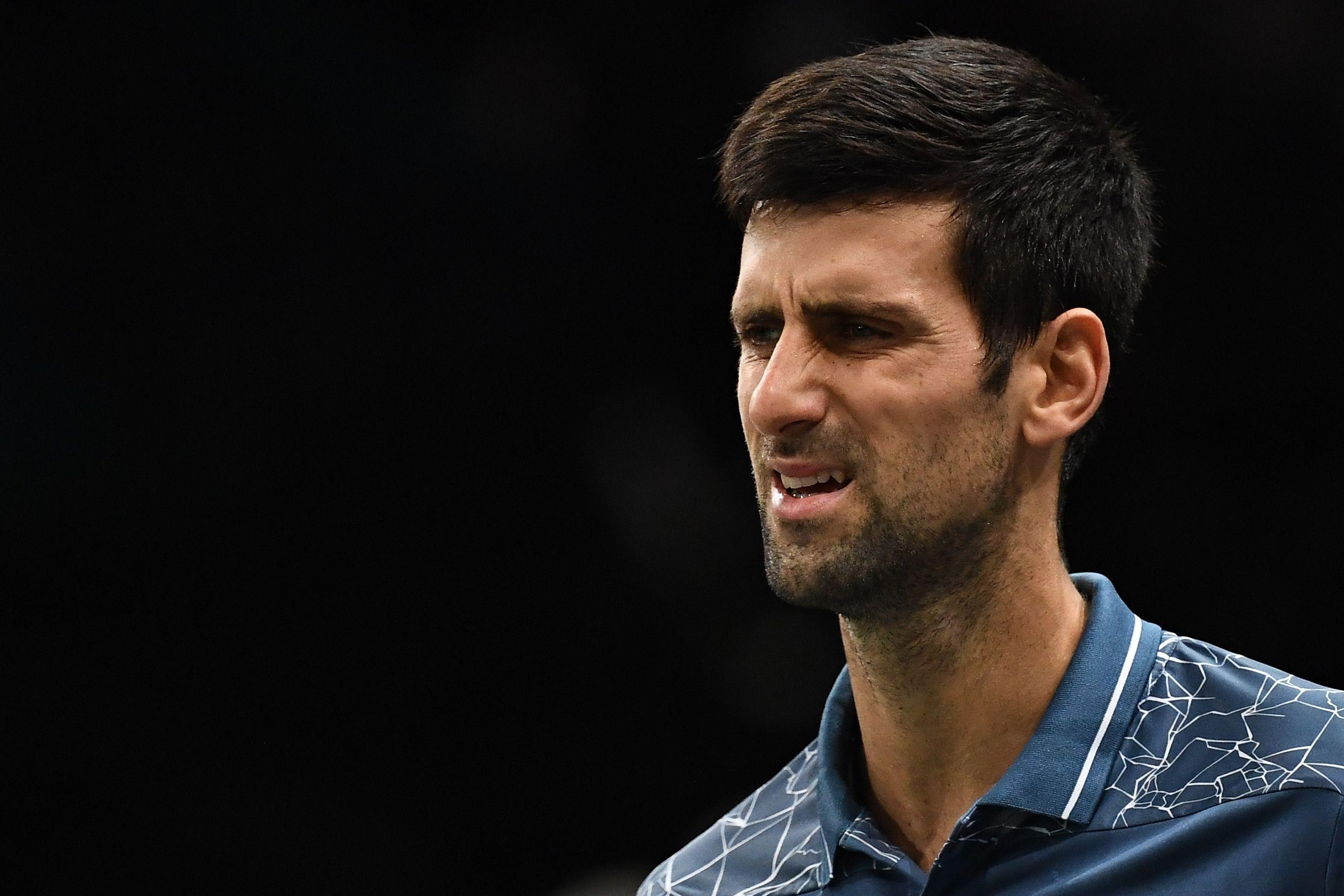 Djokovic praised the Russian youngster for 'playing a great match'