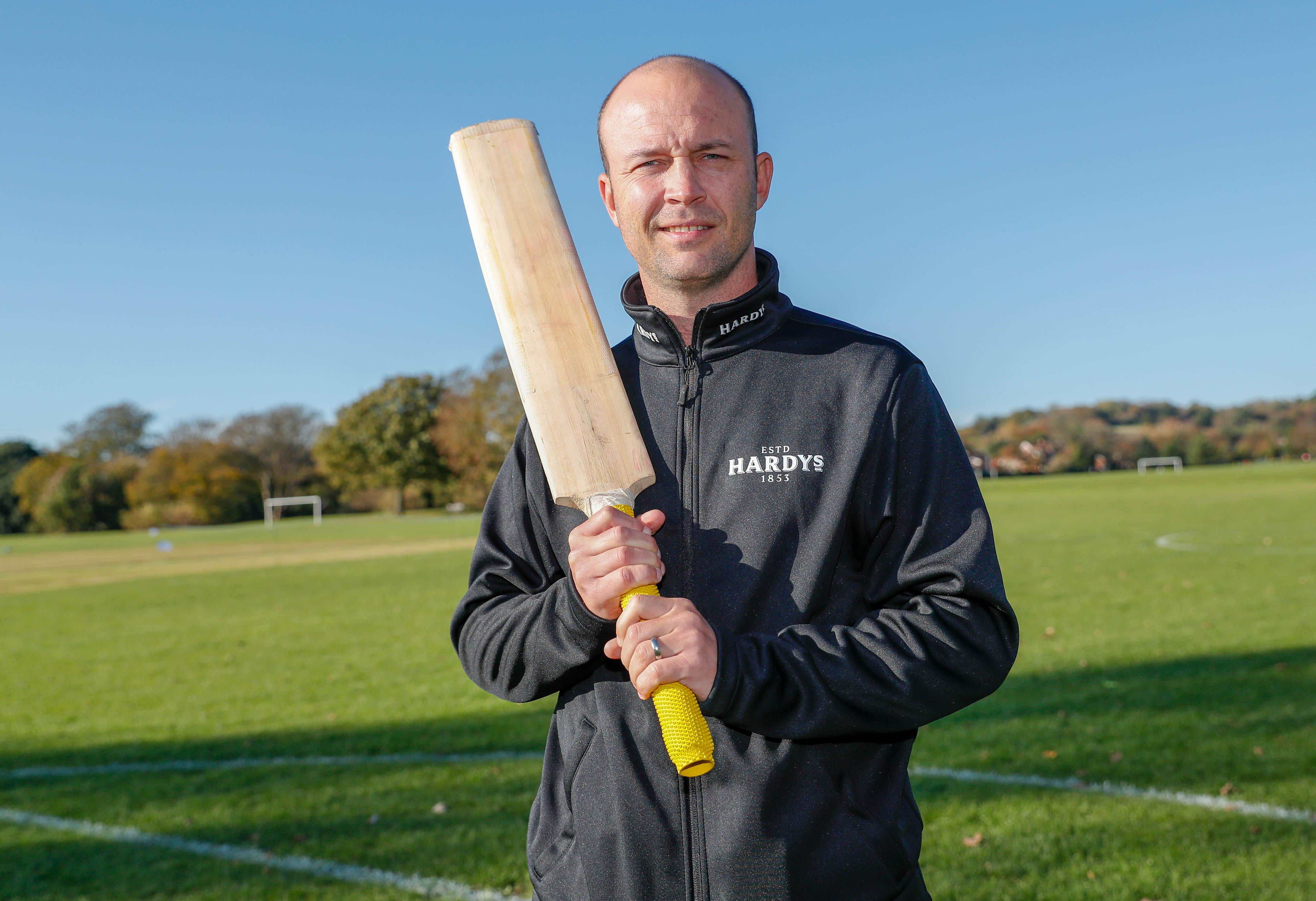 Jonathan Trott is embarking on his latest career, in coaching