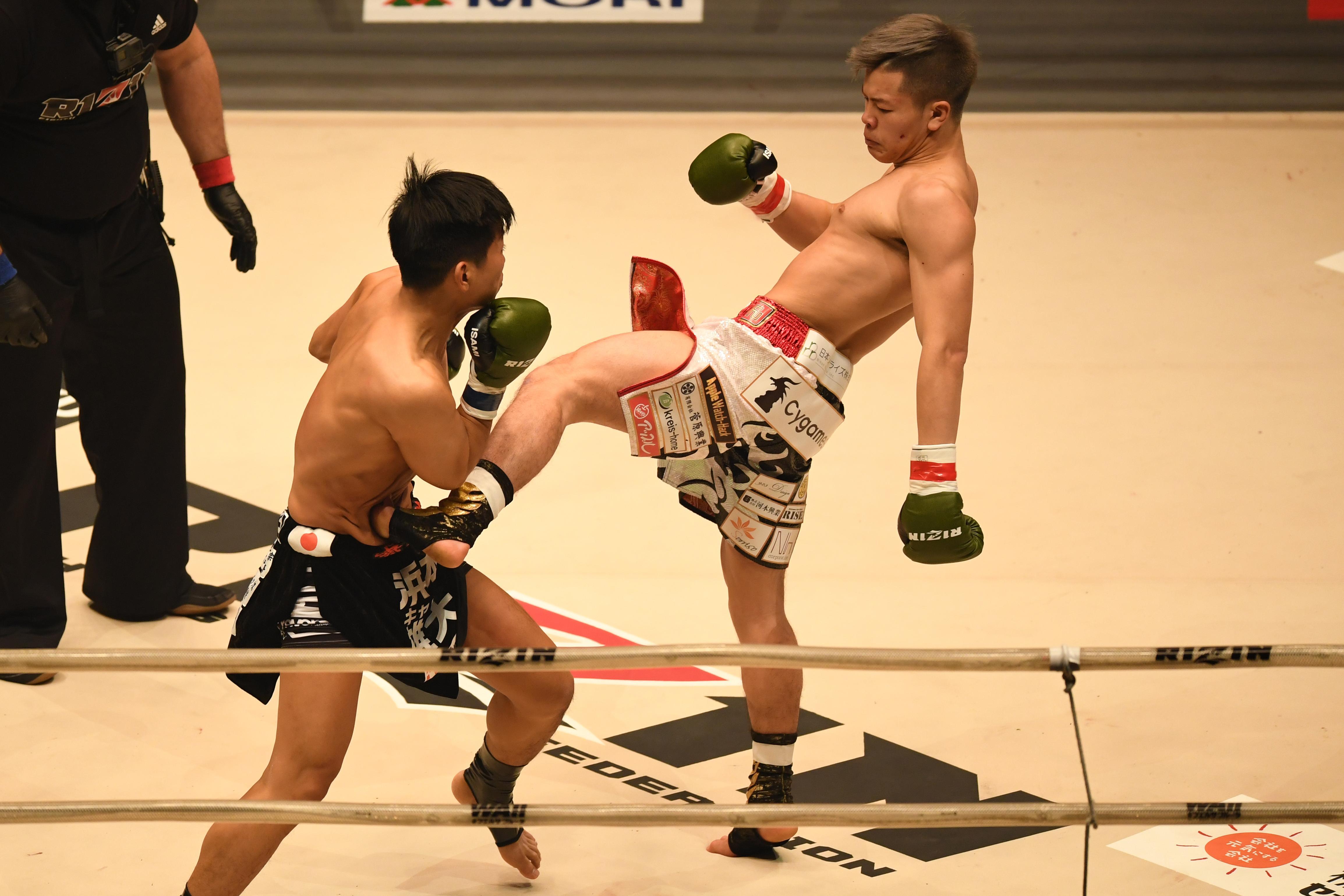 Tenshin Nasukawa will fight Floyd Mayweather on New Year's Eve in Japan
