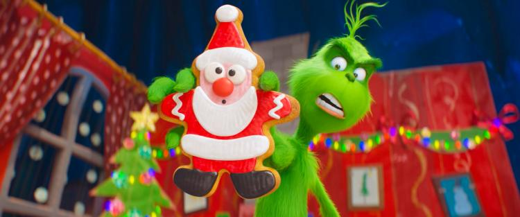 The Grinch ticks all the right boxes but is a bit too cutesy