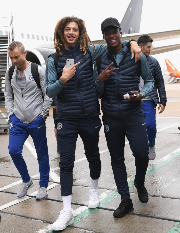 Hudson-Odoi celebrated his 18th birthday on Wednesday as the Chelsea squad flew out to Belarus for their Europa League tie