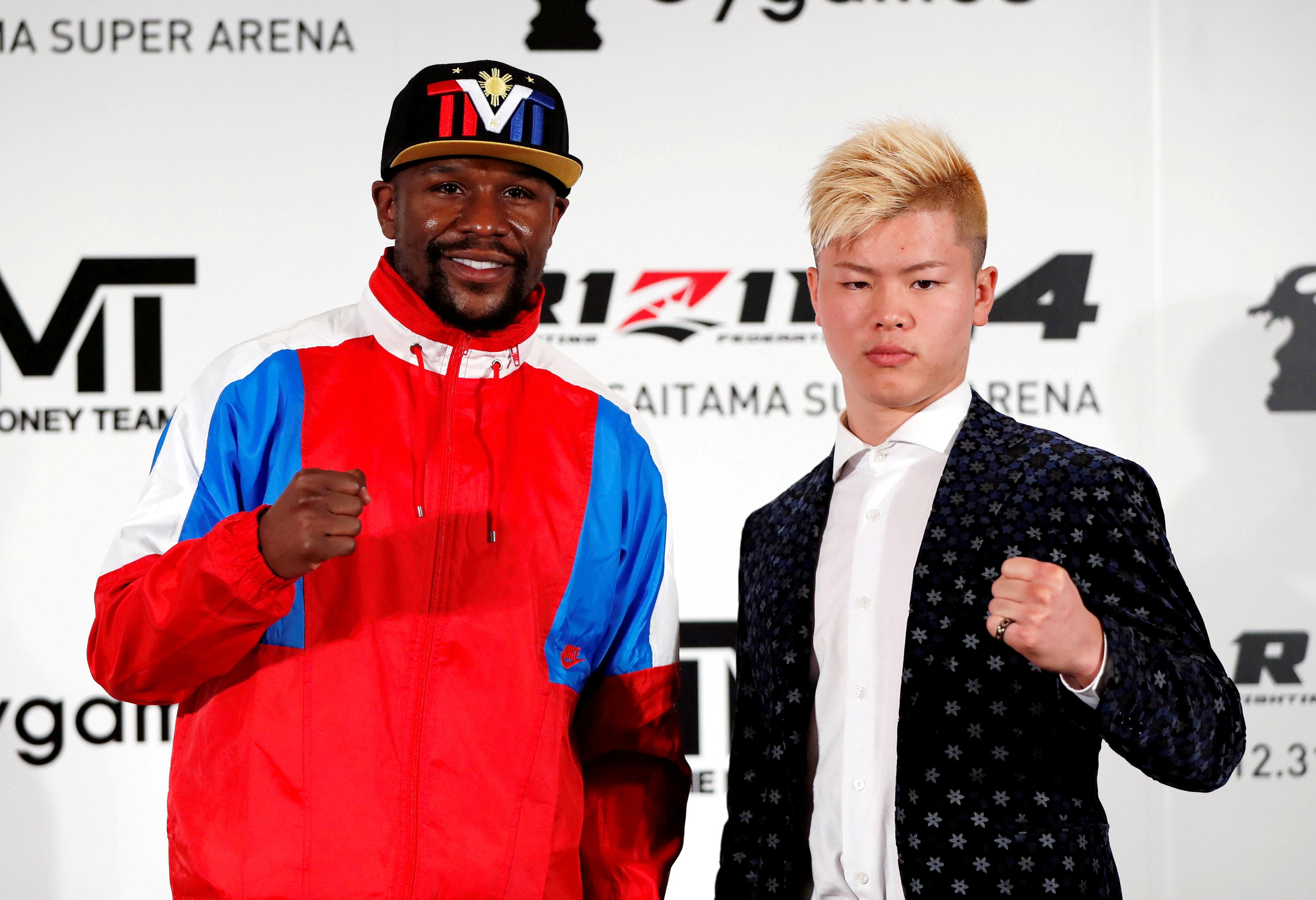 Floyd Mayweather's fight with Tenshin Nasukawa could be back on after all