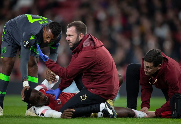 Nani went over to Danny Welbeck with the latter sprawled on the ground in agony