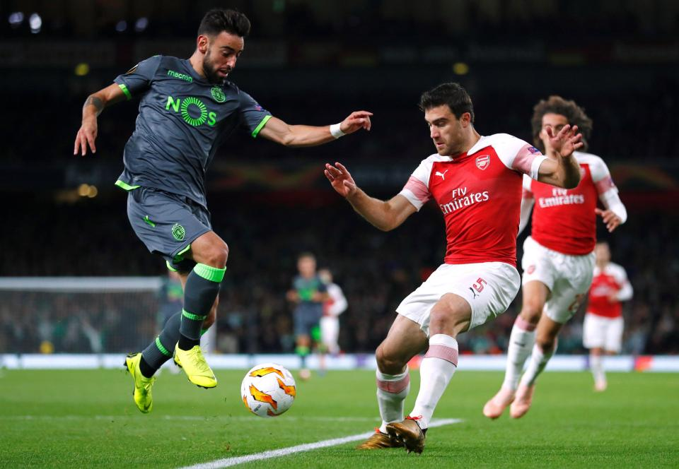 Sokratis was the pick of the bunch in Arsenals defence