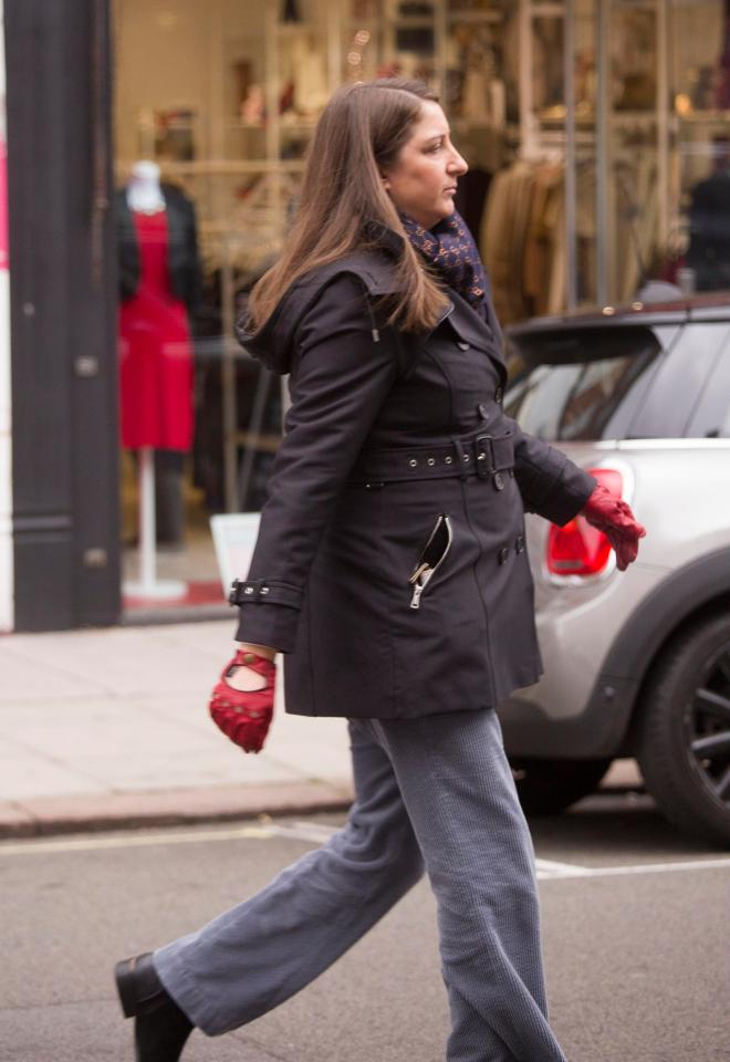 224d33912eb7 Honey G was pictured as she took a stroll along St John s Wood High Street.  ""