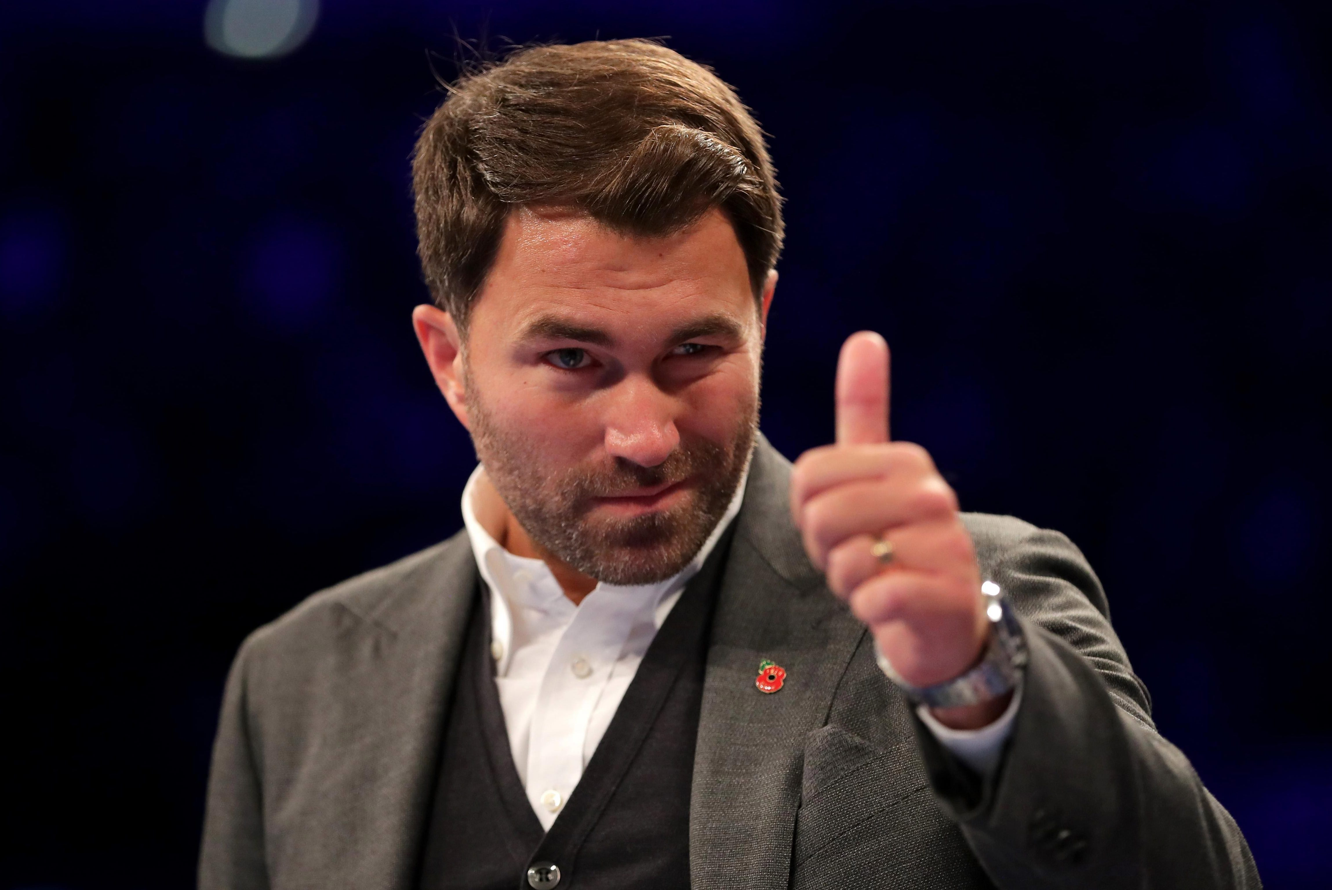 Eddie Hearn has both Usyk and AJ signed up to a promotional contract