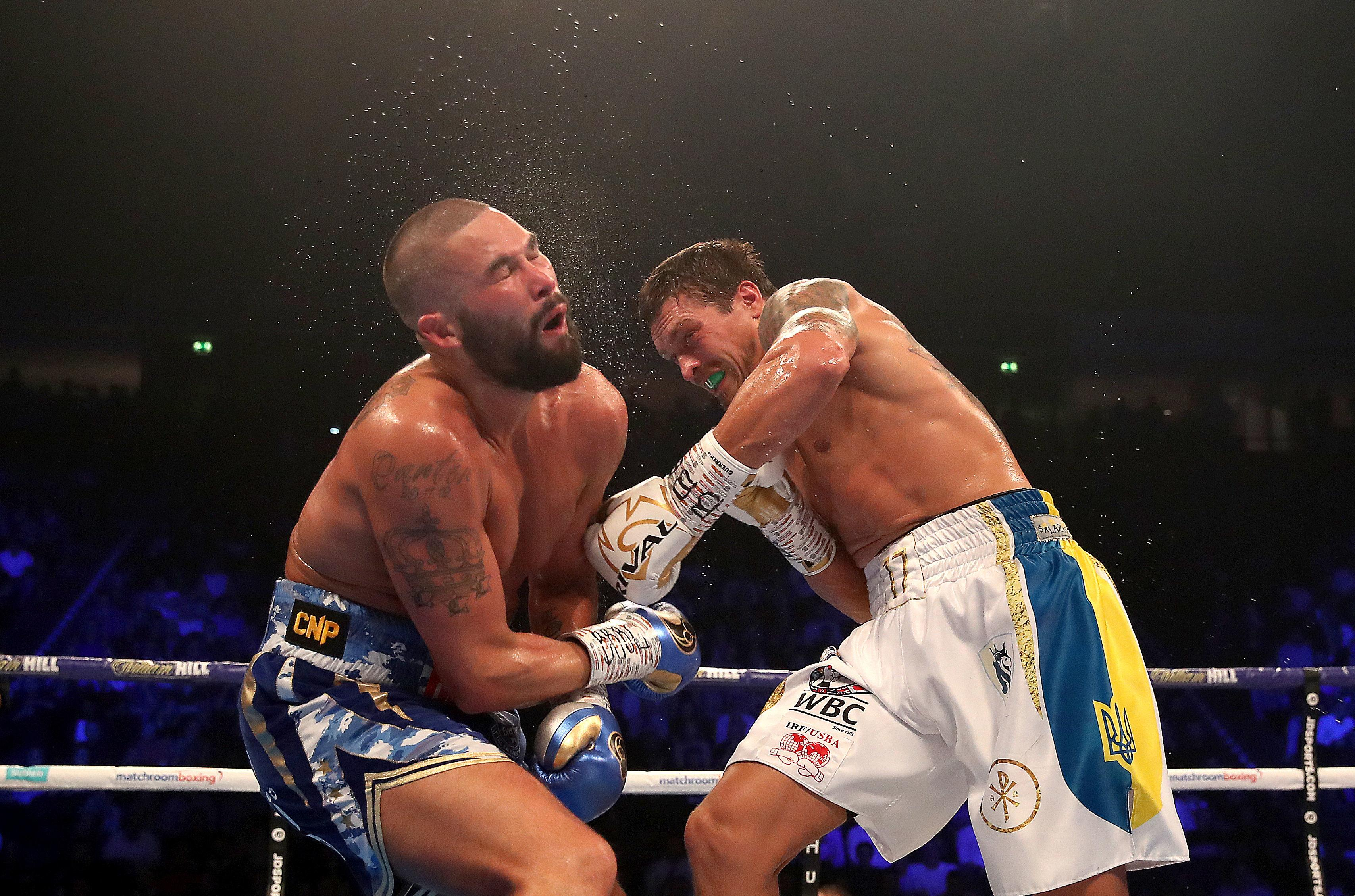 Tony Bellew did not know what round Oleksandr Usyk knocked him out