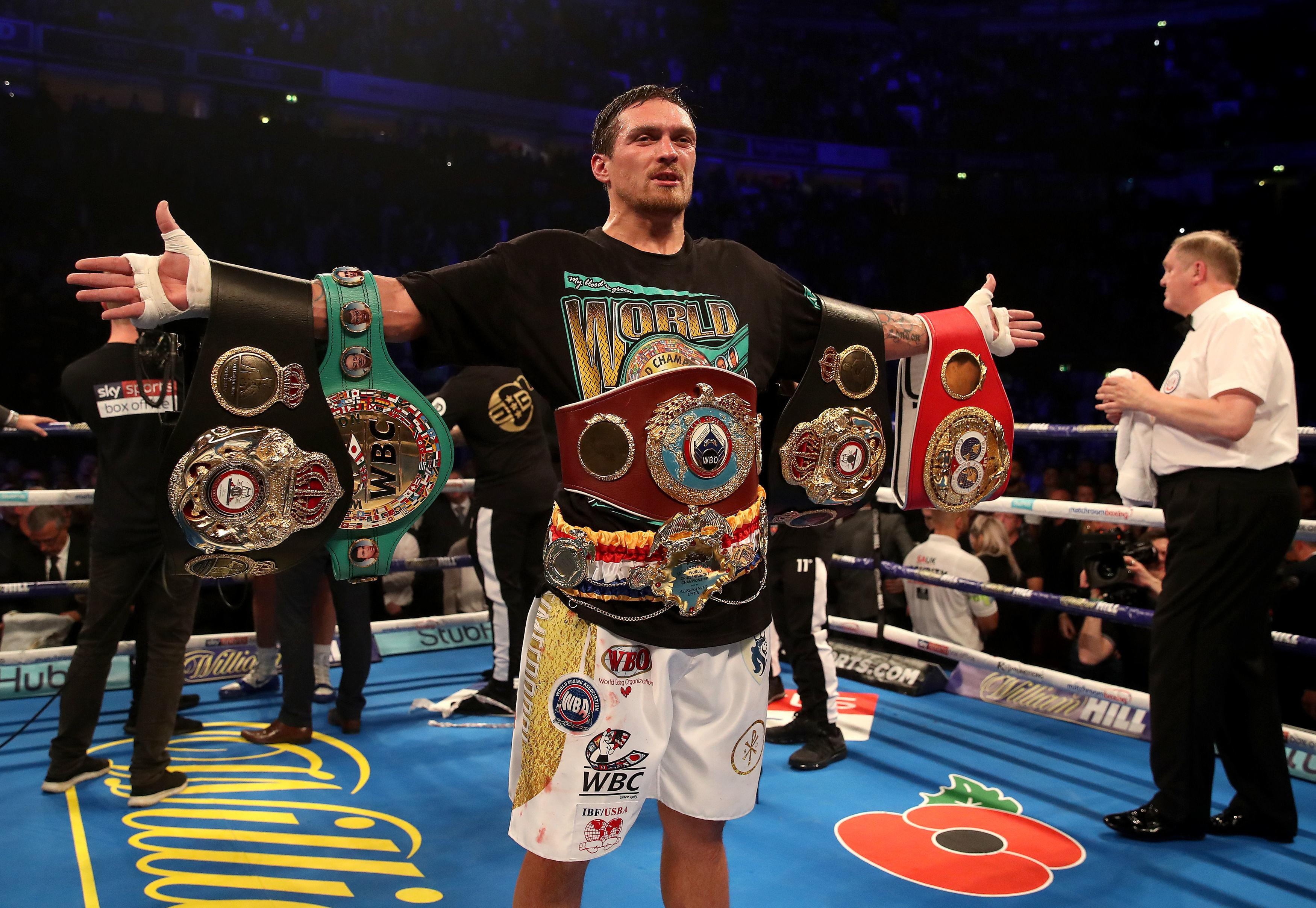 The Ukrainian cruiserweight king defeated the Liverpool fighter with an eighth-round knockout on Saturday