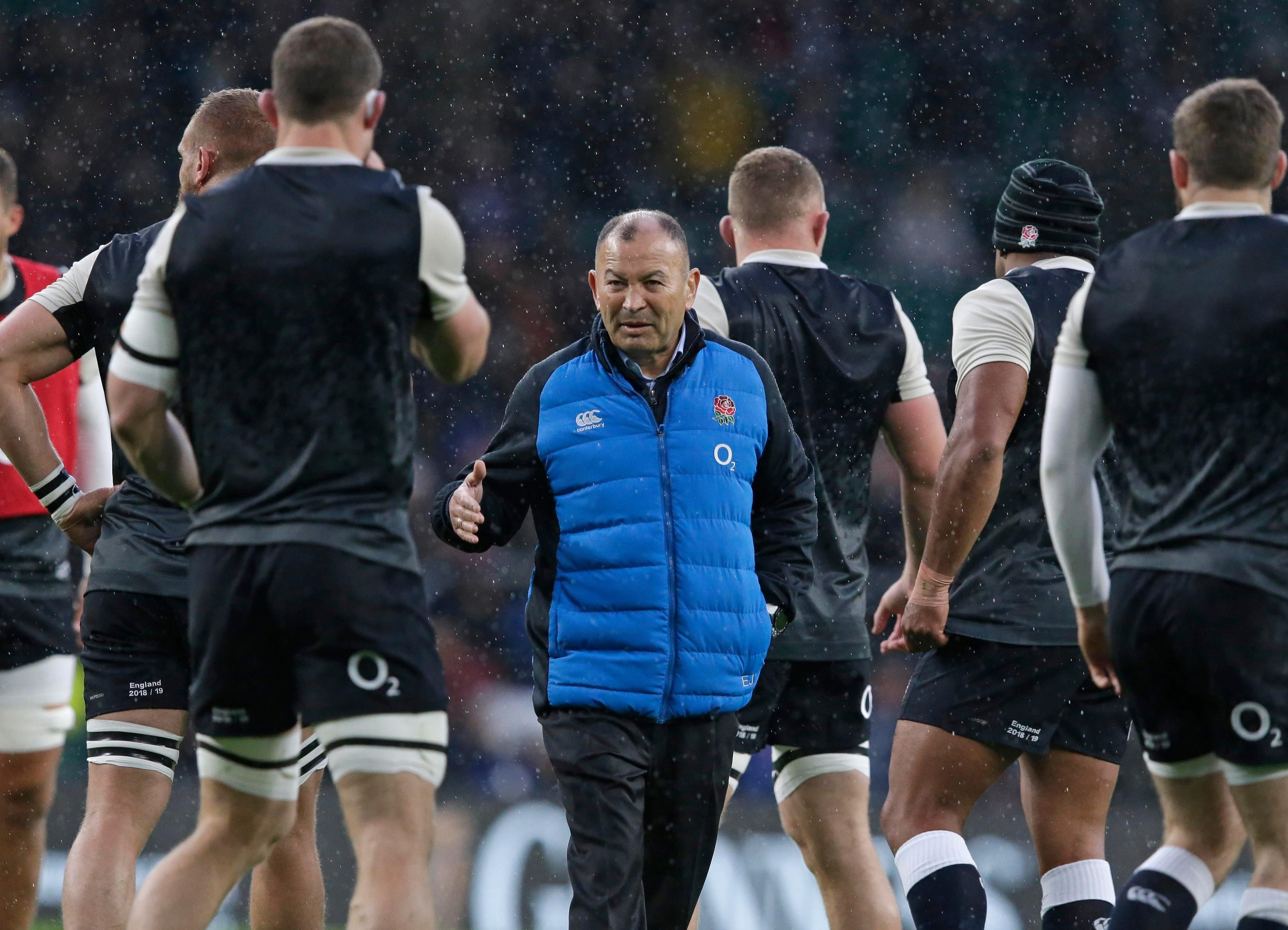 Jones praised his players for their conduct in defeat