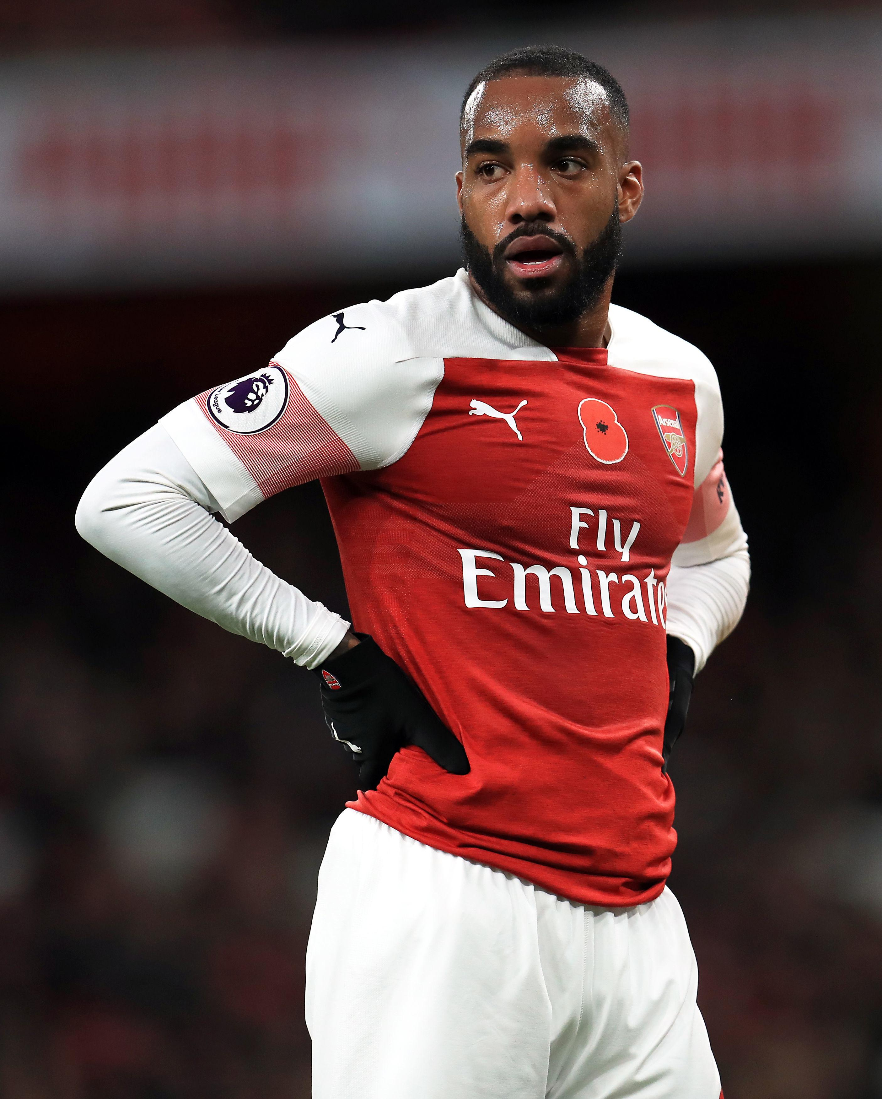 Alexandre Lacazette loves living in London because no one knows who he is