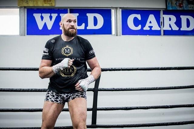Fury takes on the WBC heavyweight champion on December 1 at the Staples Center in Los Angeles