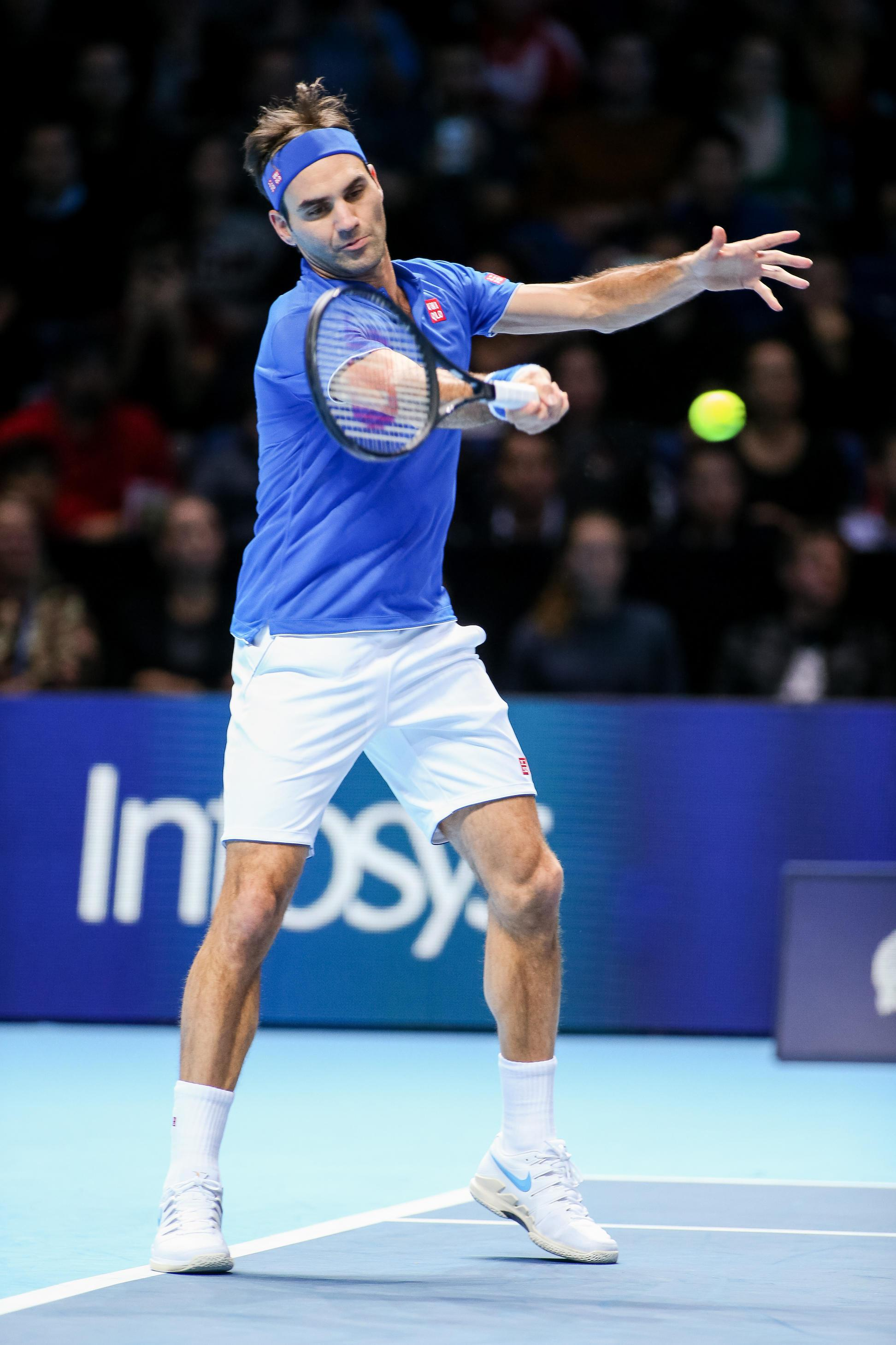 Roger Federer found his form after Sunday's shock loss the Kei Nishikori