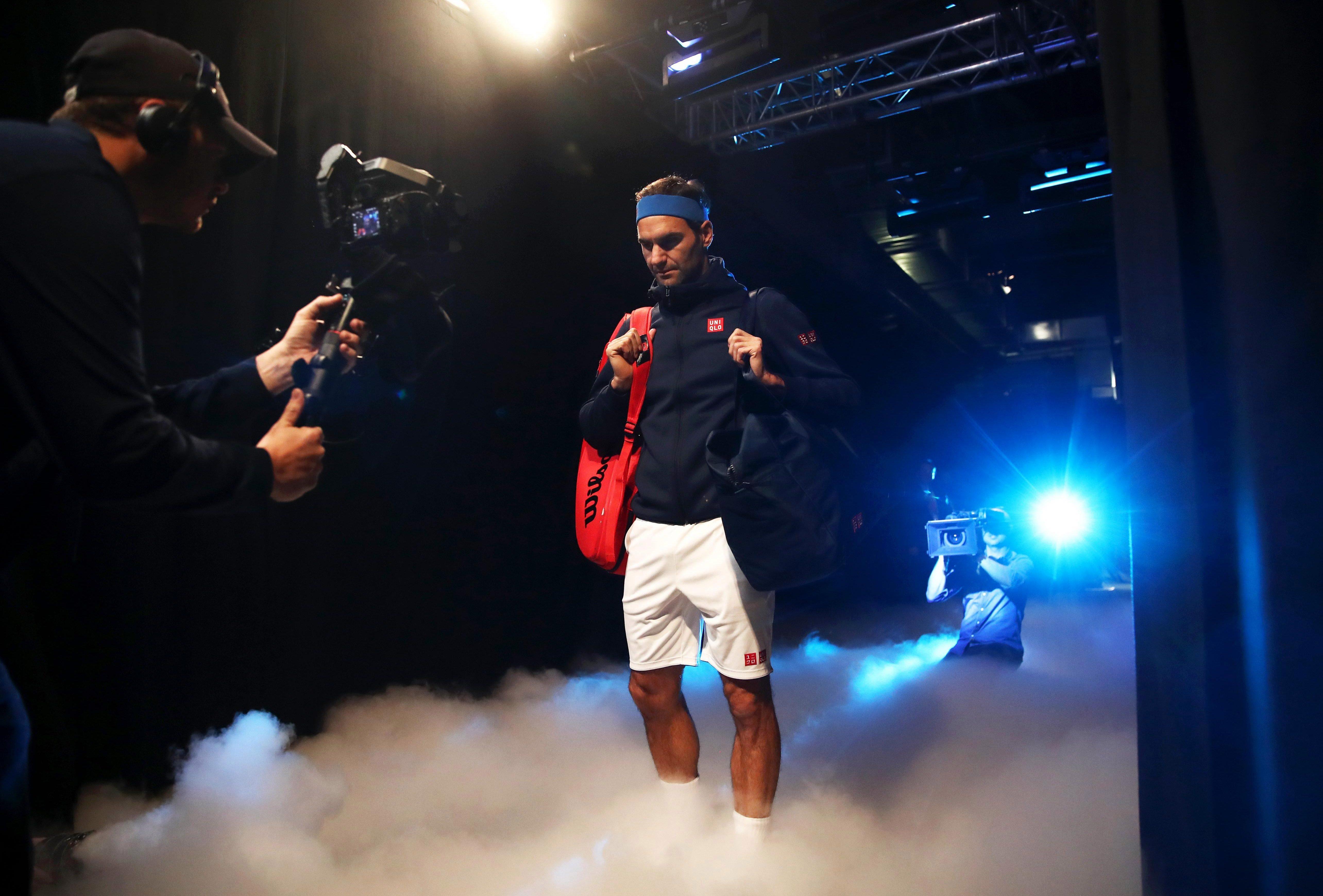 Federer topped group Lleyton Hewitt despite his loss to Kei Nishikori on Sunday