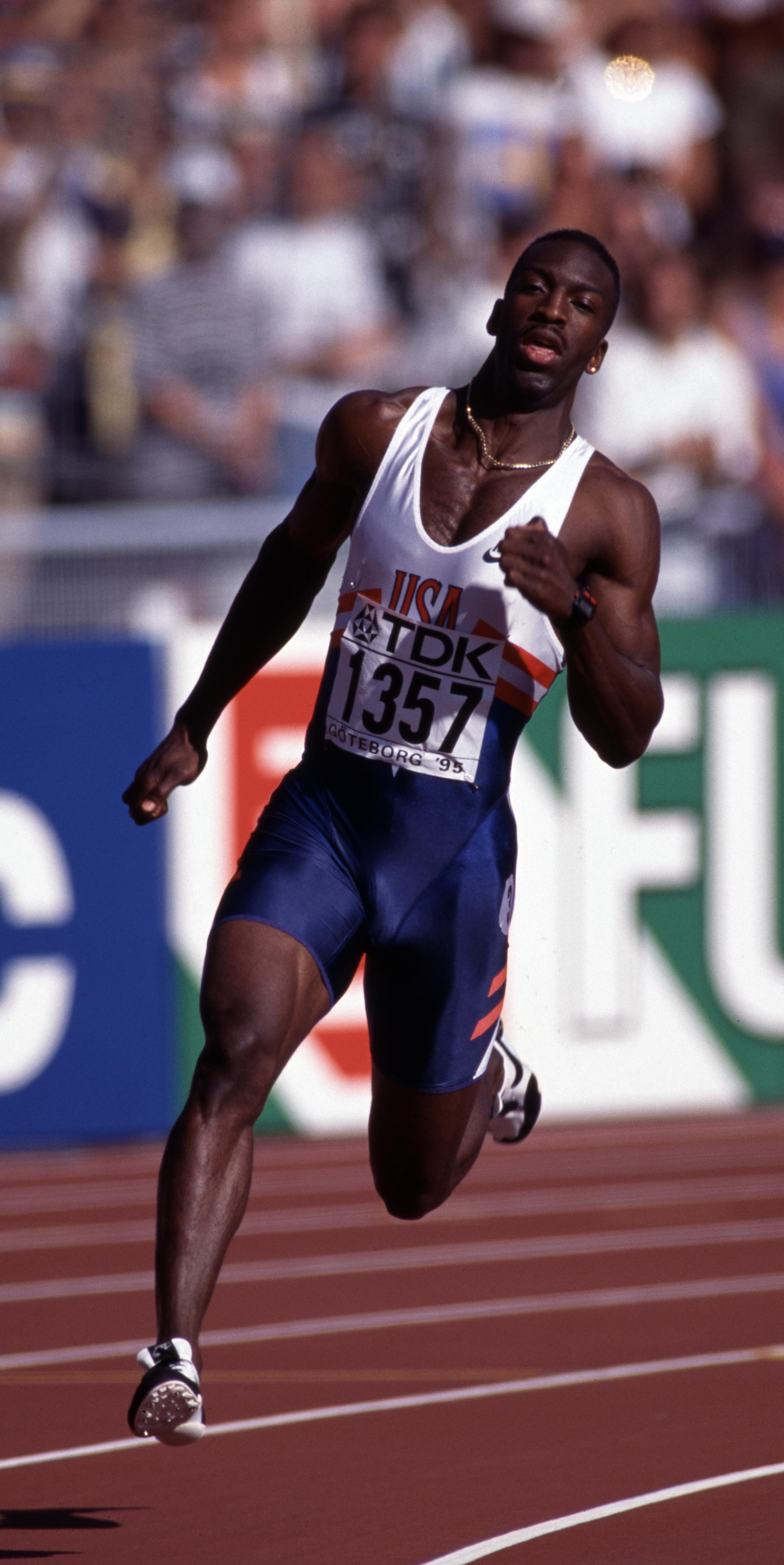 Michael Johnson was once the fastest man over 200m and 400m in the world