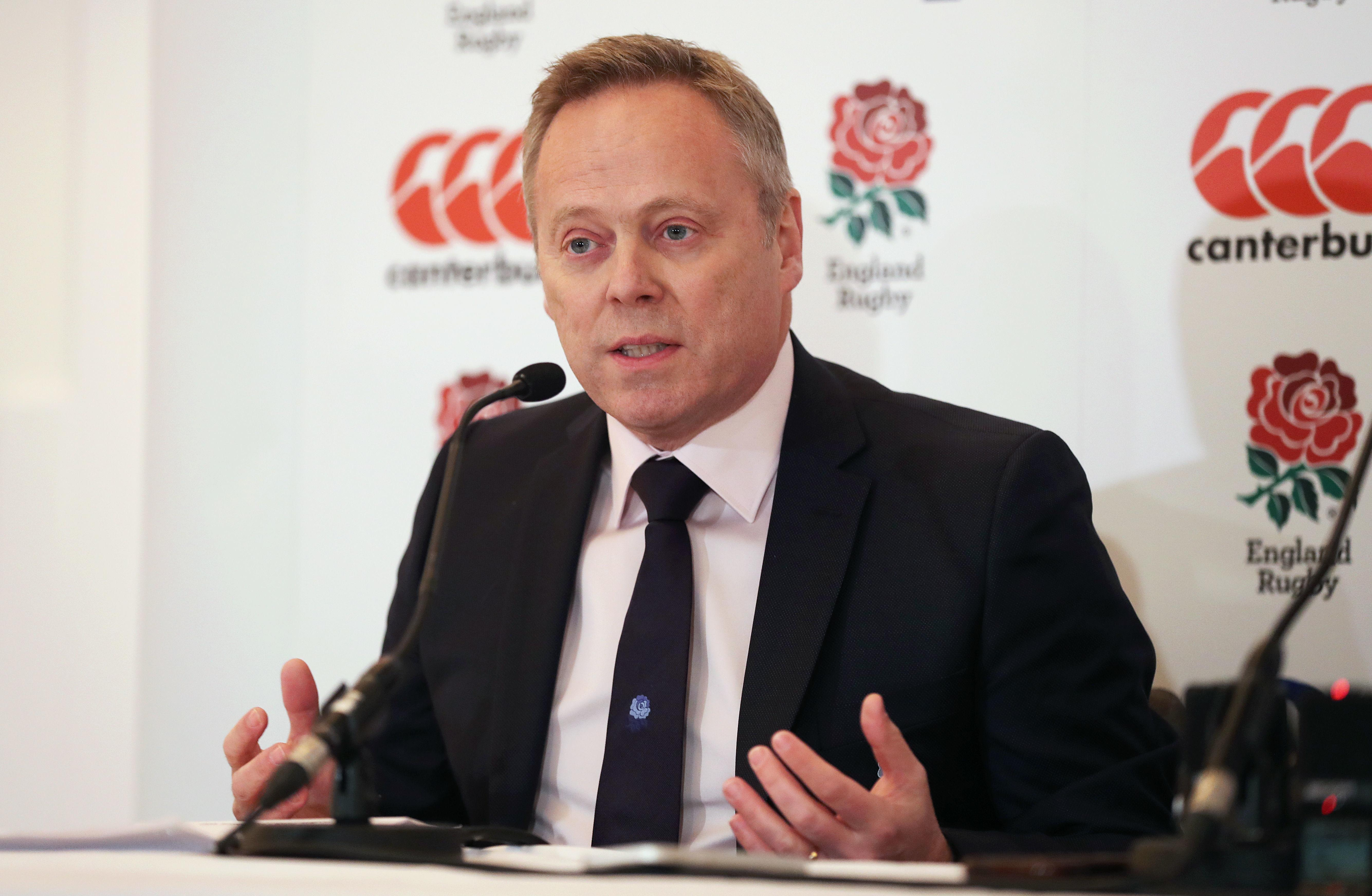 The RFU has been thrown into turmoil after Steve Brown stepped down