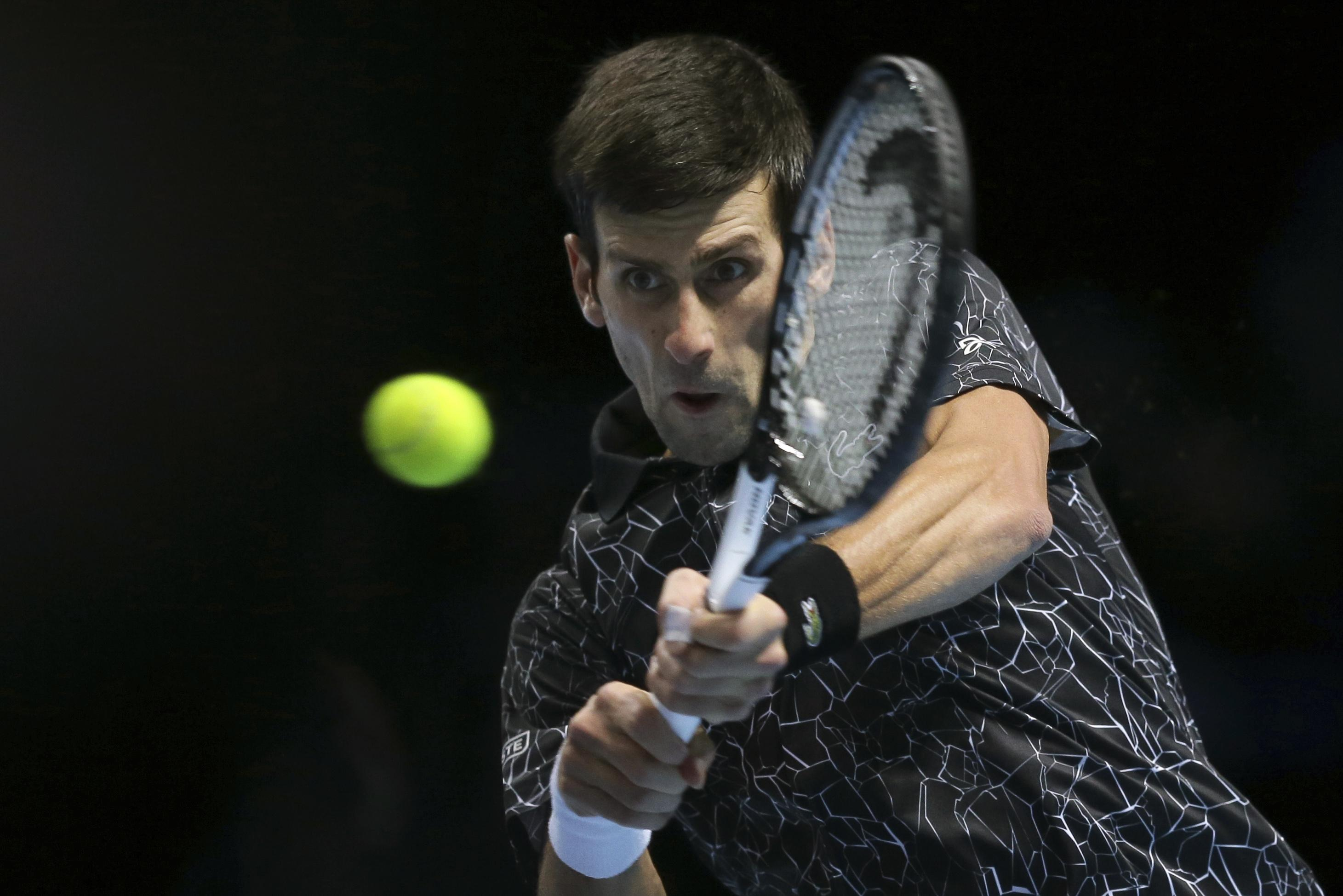 Djokovic struggled with a spectator heckling him from the stands during the match