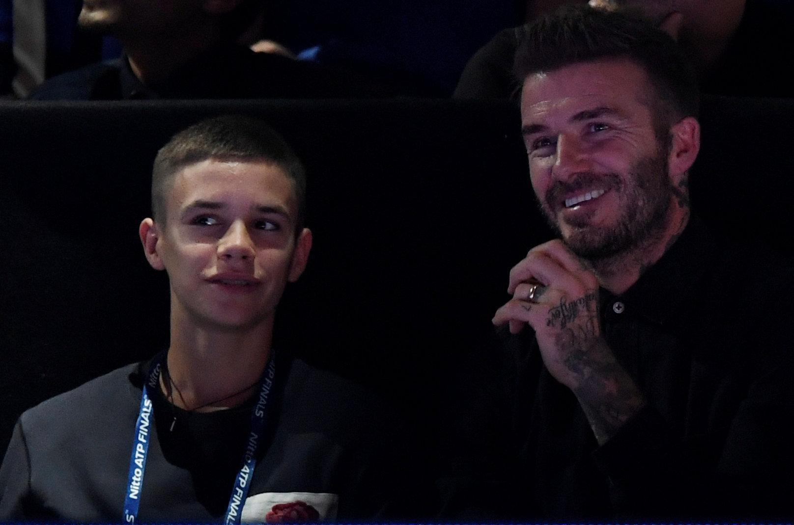 David Beckham enjoys Alexander Zverev's landmark triumph over Novak Djokovic