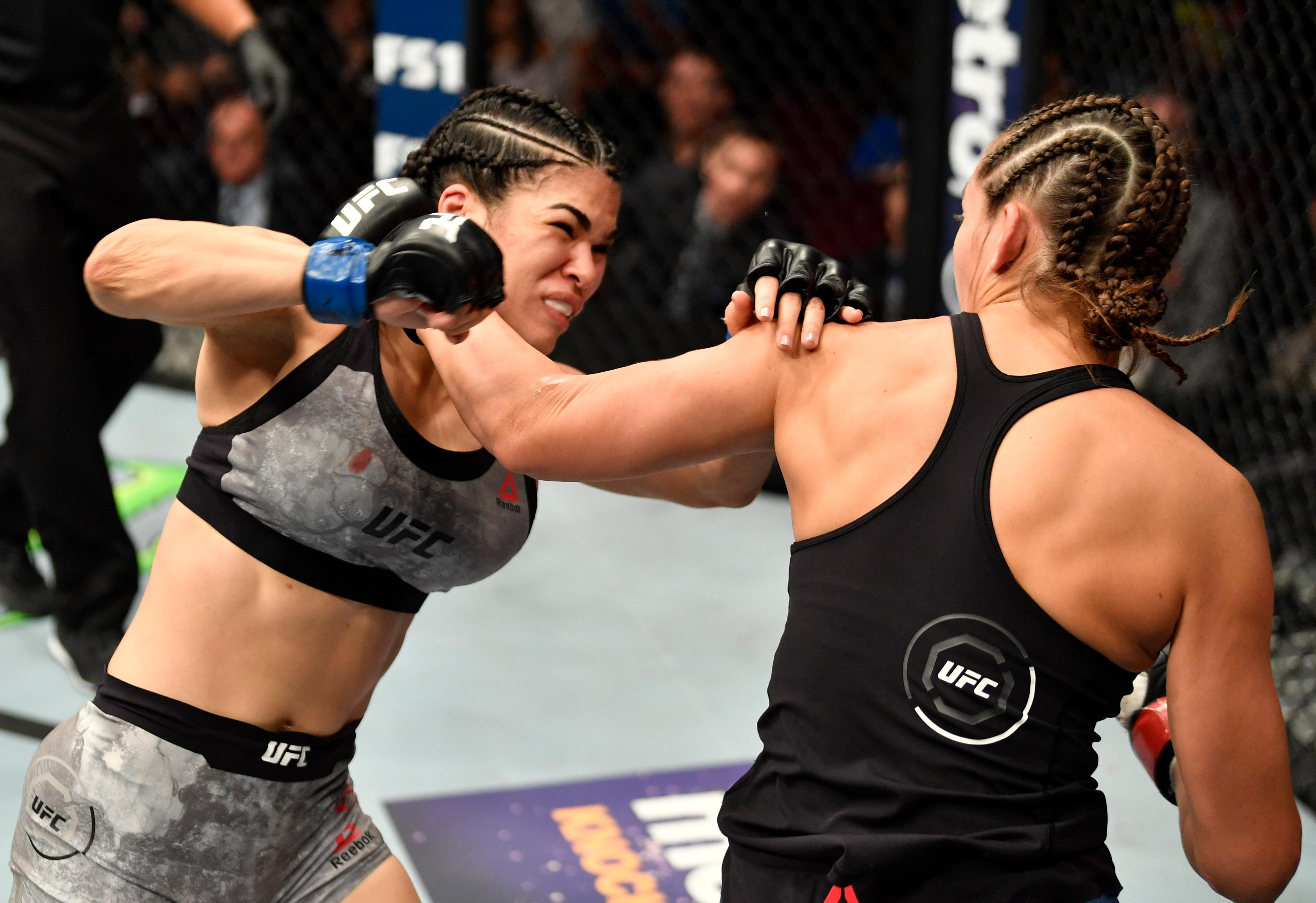 Ostovich's upcoming fight against Paige VanZant is in serious doubt
