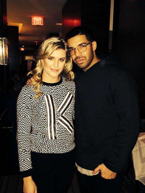 Eugenie is often spotted with fellow Canadian celebs like Drake