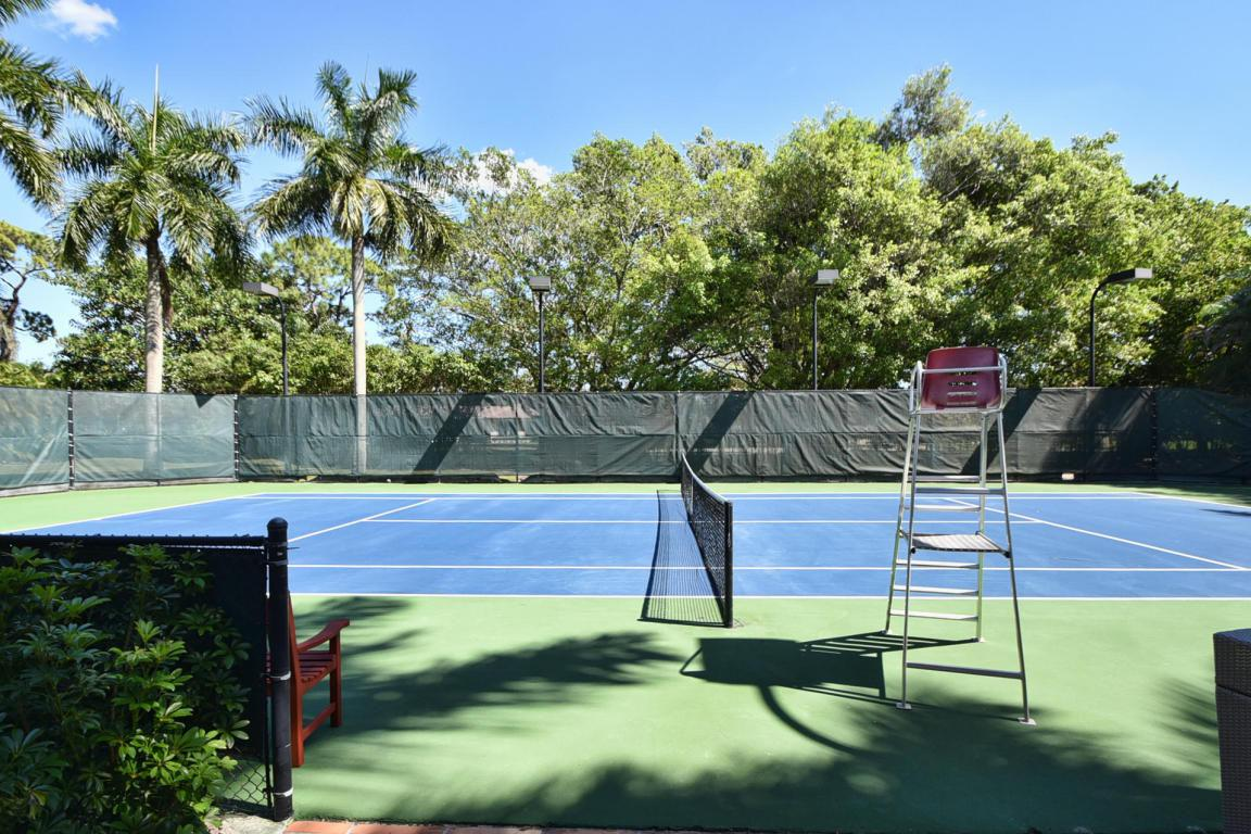 It also comes with a full-size tennis court, of course