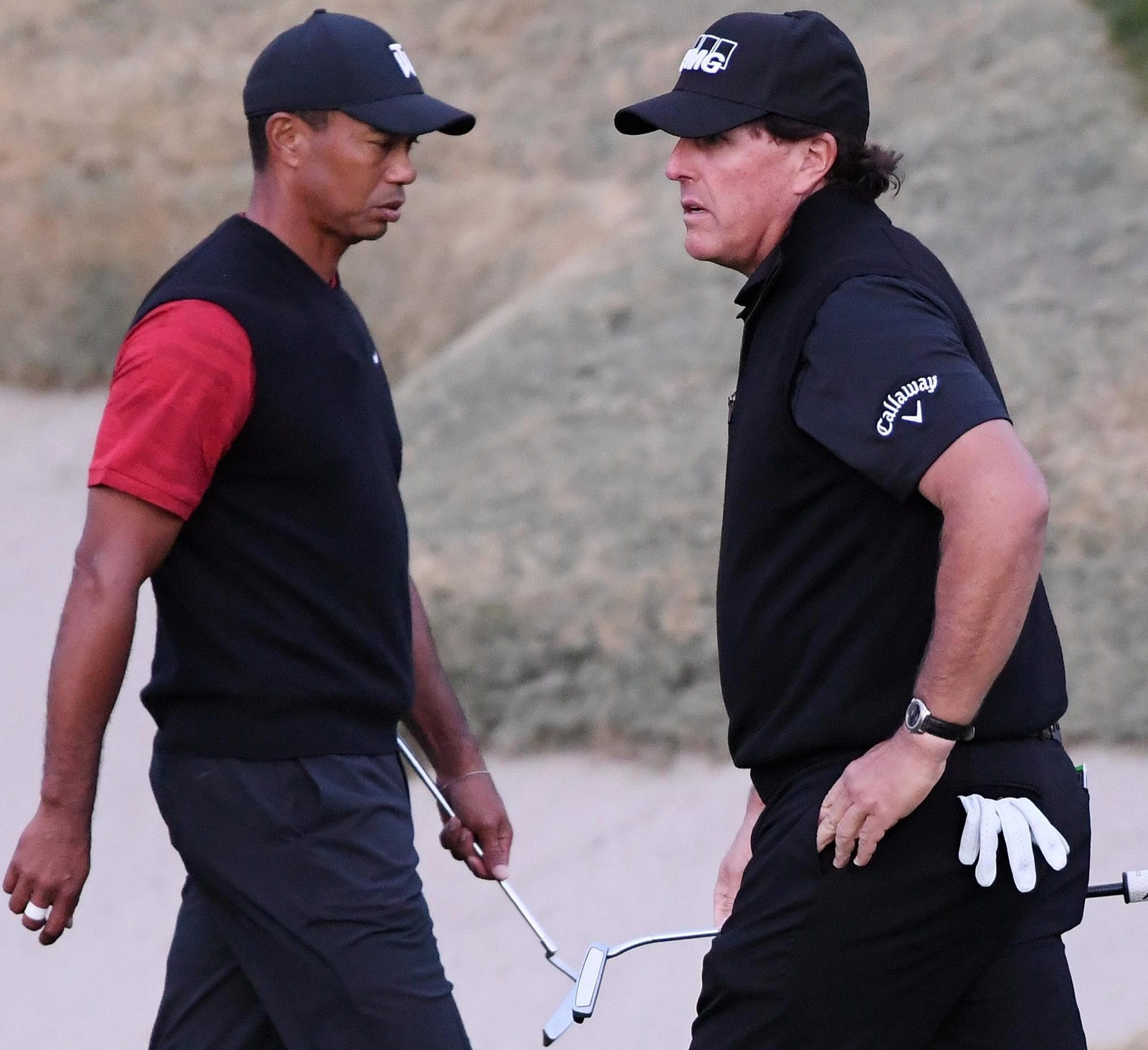 Legends Tiger Woods and Phil Mickelson were supposed to have a huge PPV shootout for Thanksgiving
