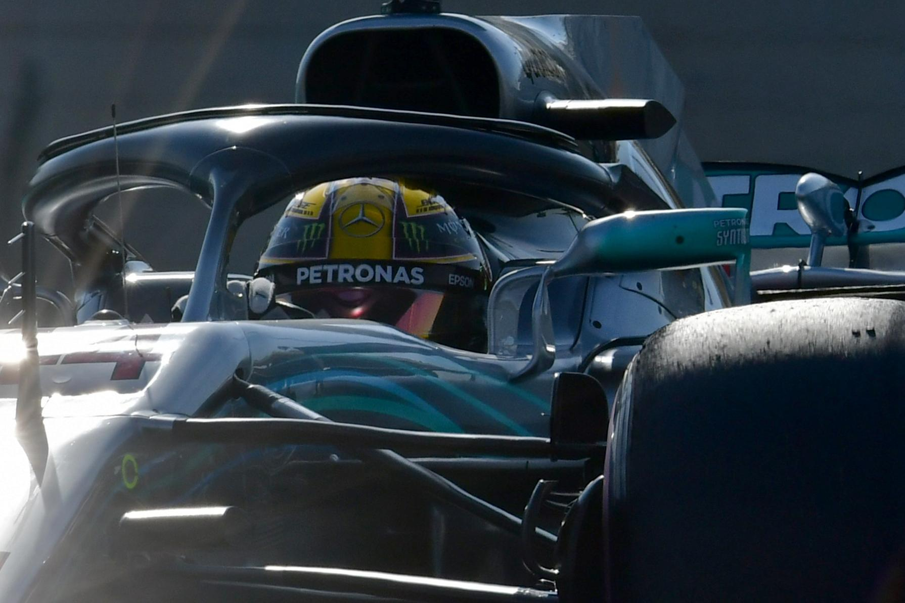 Mercedes have started on pole for 84 of the last 100 F1 races