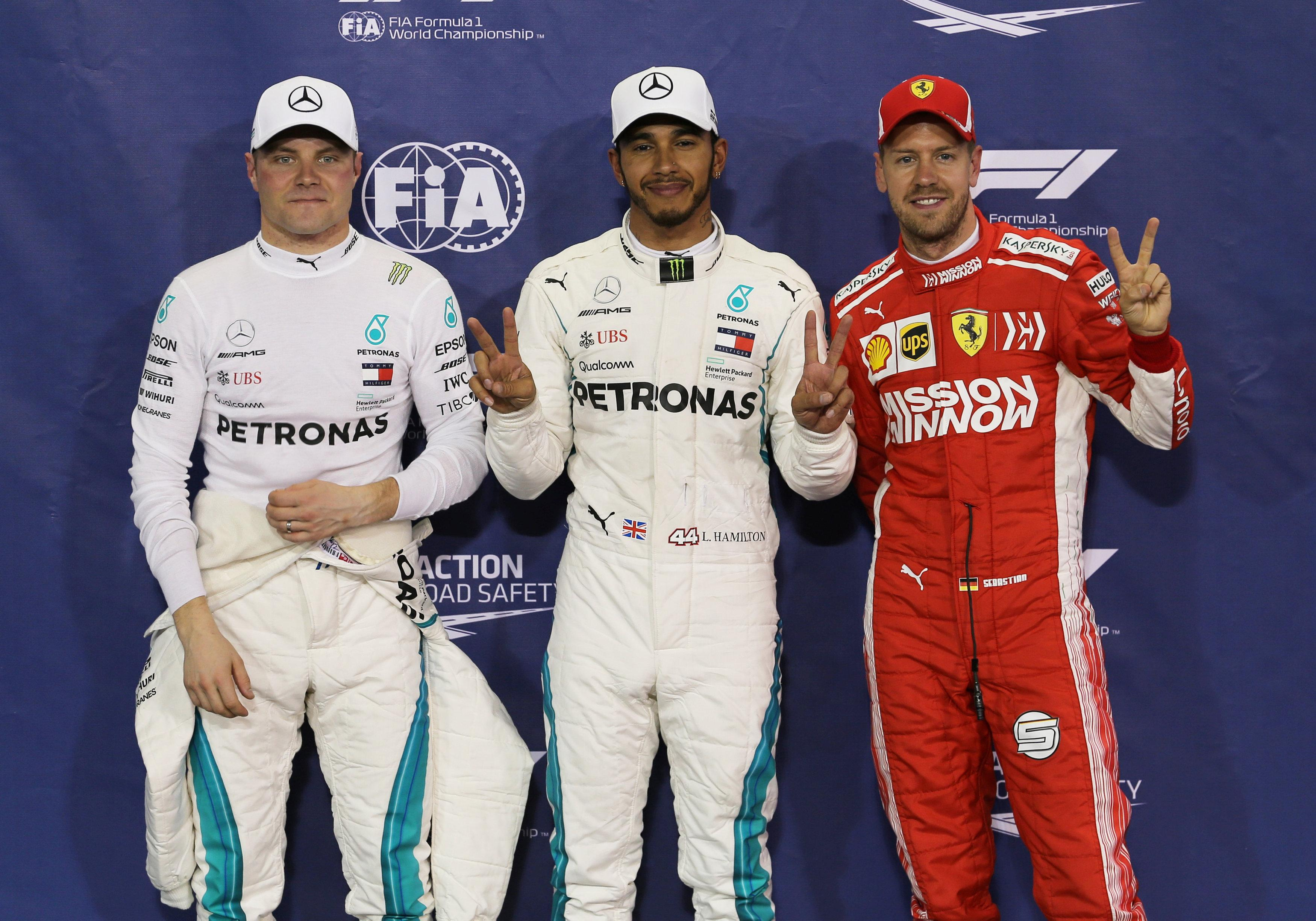Sebastian Vettel completes the fastest three qualifiers as he looks to end the season on a high