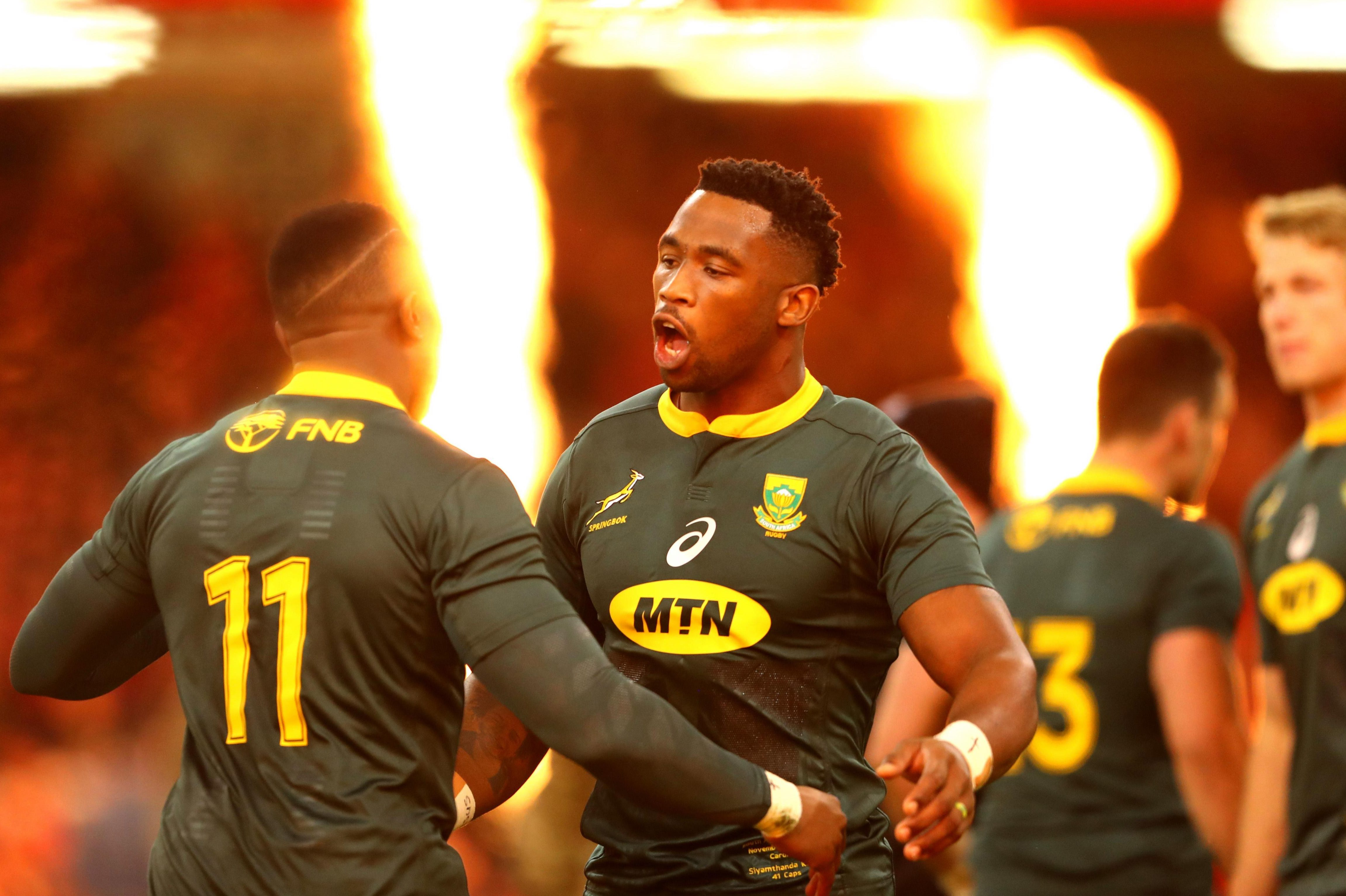The incident happened on the eve of South Africa's defeat to Wales