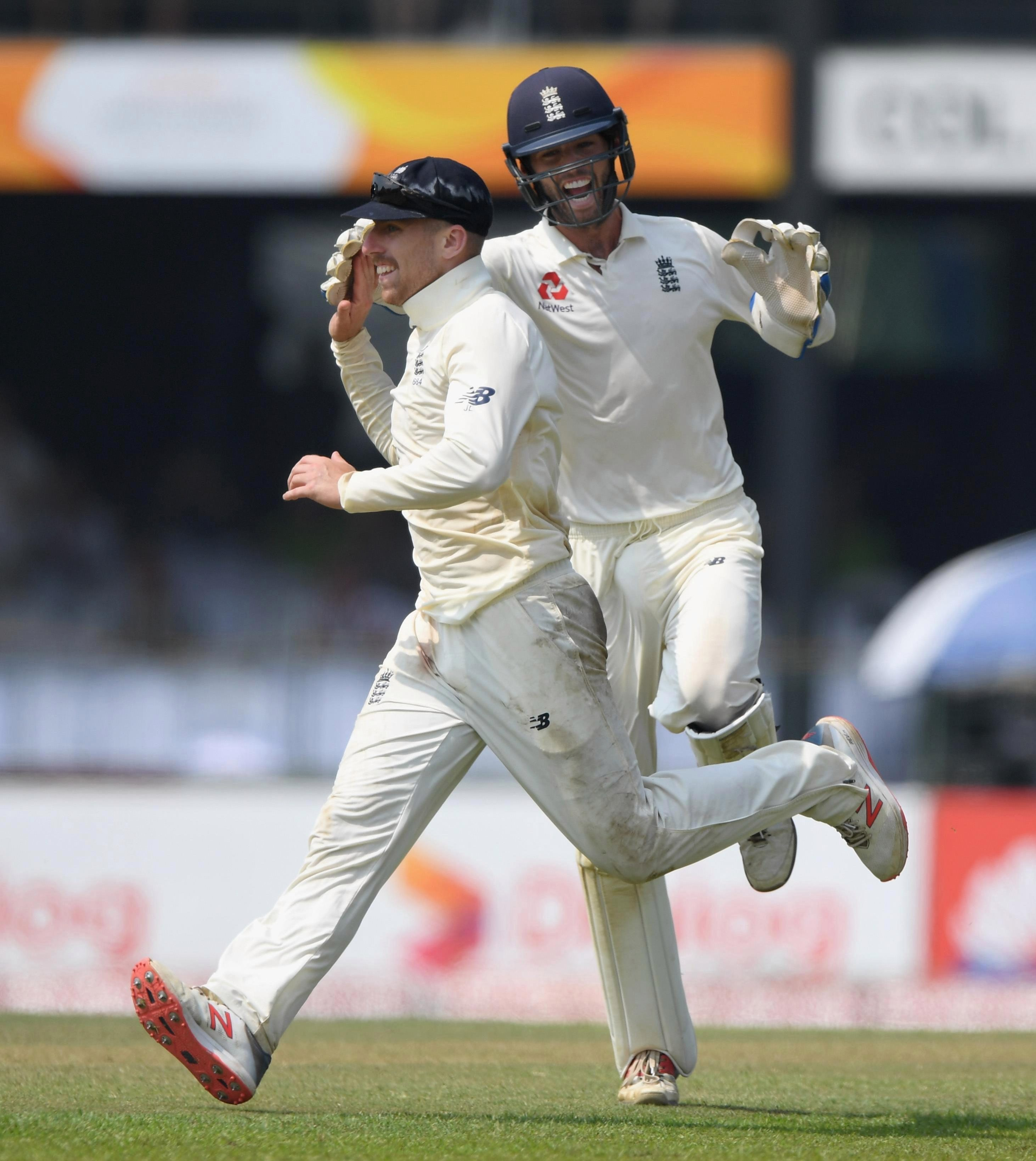 Jack Leach inspired England's victory on day four in Colombo