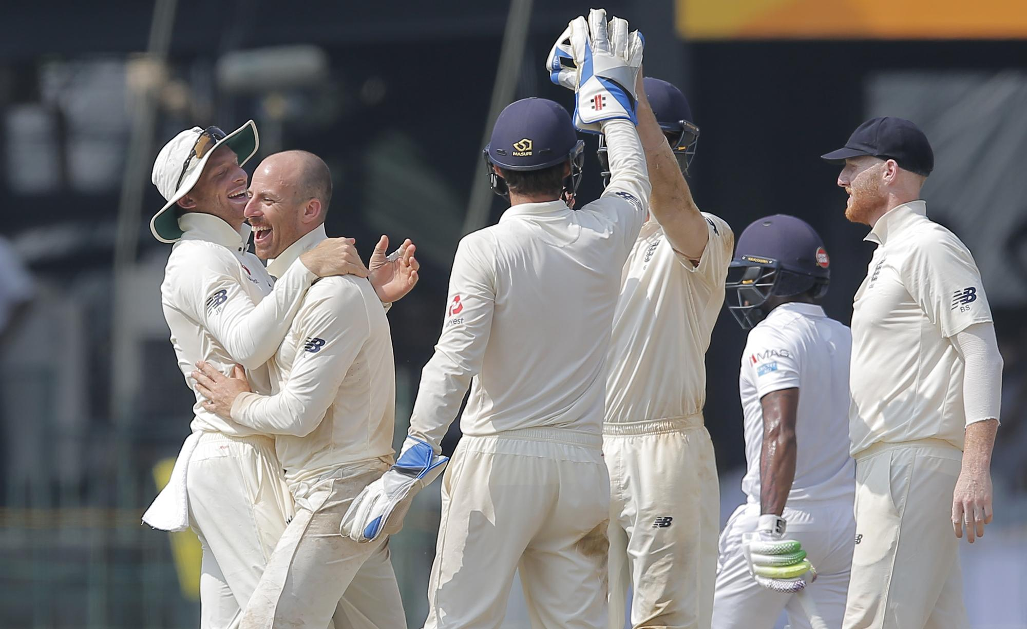 England celebrated after a 102-run partnership threatened defeat