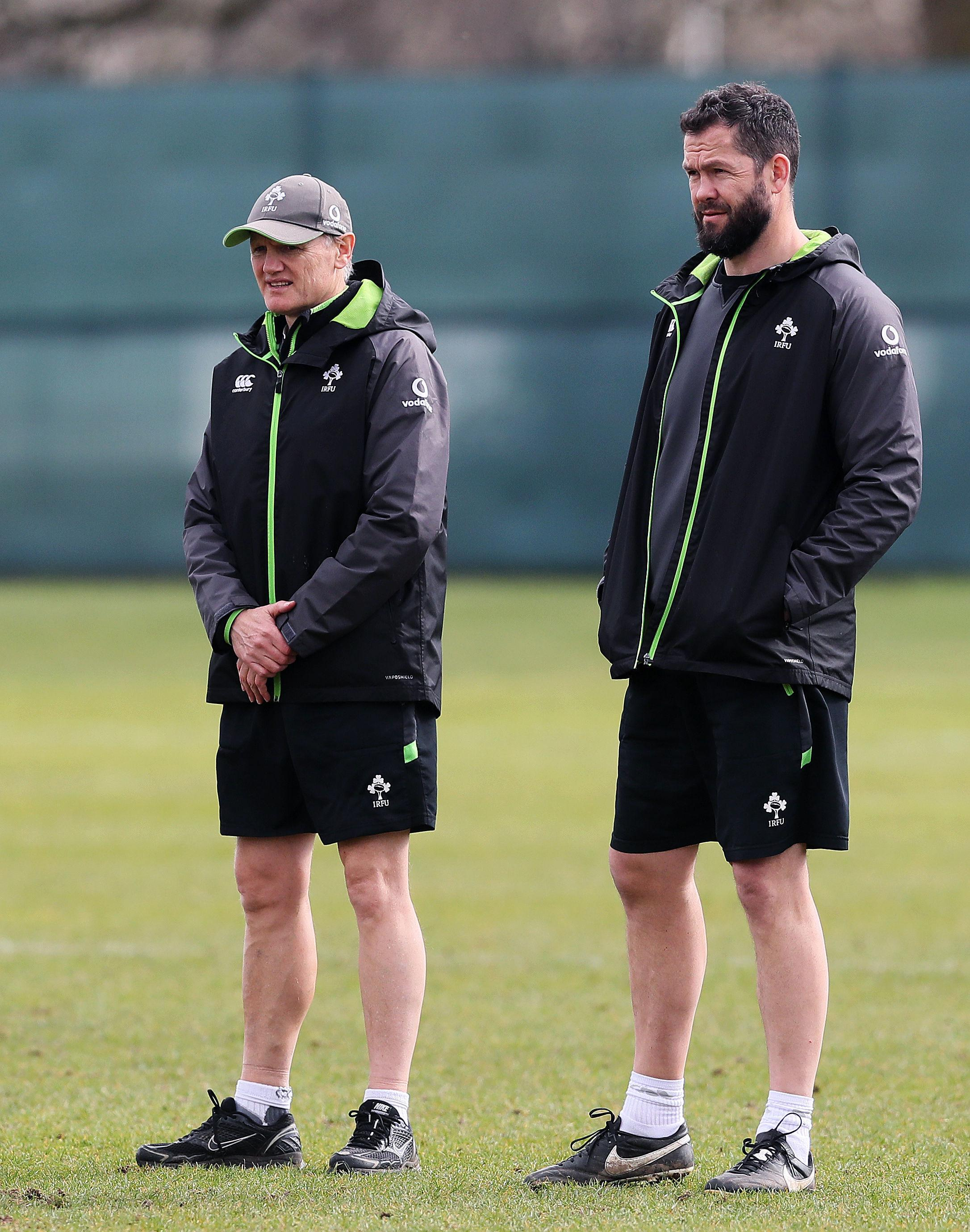 If Andy Farrell has soaked up some of Joe Schmidt's coaching methods, Ireland will be in a good position
