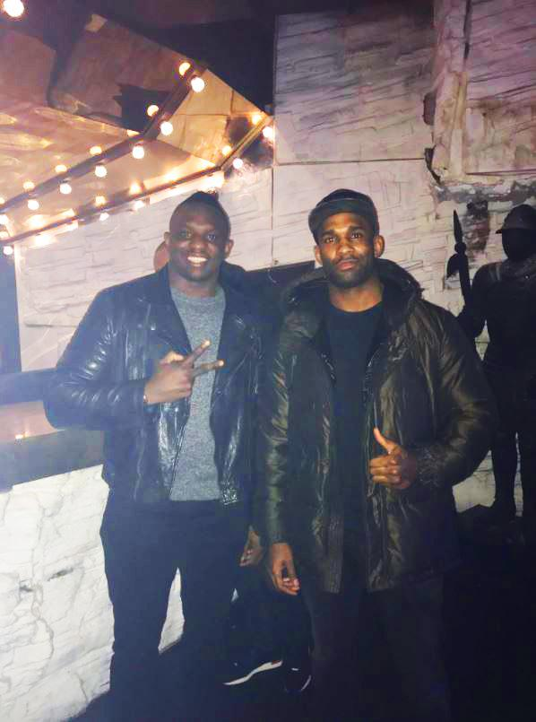 Whyte is a former kickboxer which led Manuwa to train with the Brixton heavyweight