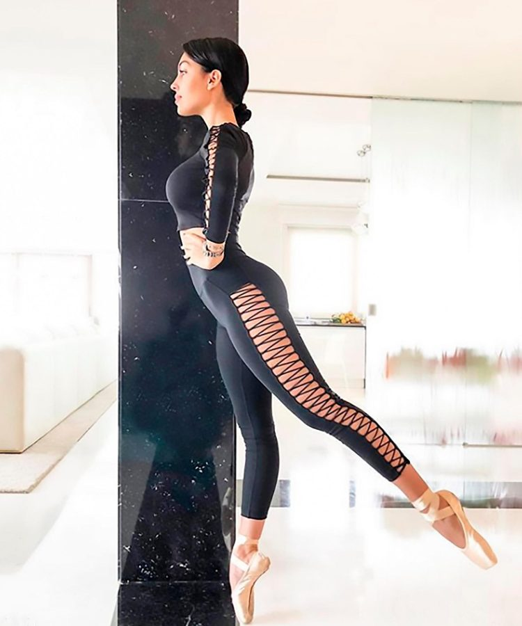 Spaniard Georgina Rodriguez is a former dancer who still keeps in shape