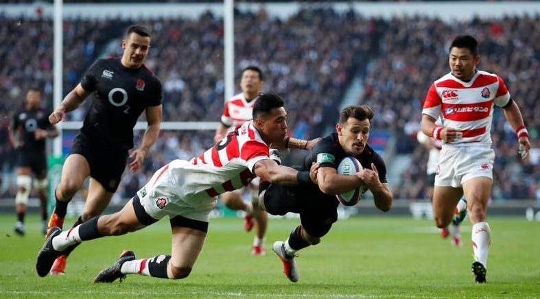 Danny Care's early try against Japan failed to save England from a ropy first half at Twickenham - before they eventually won 35-15