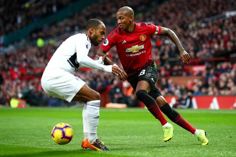 Ashley Young scored his first United goal since his brace at Watford last season