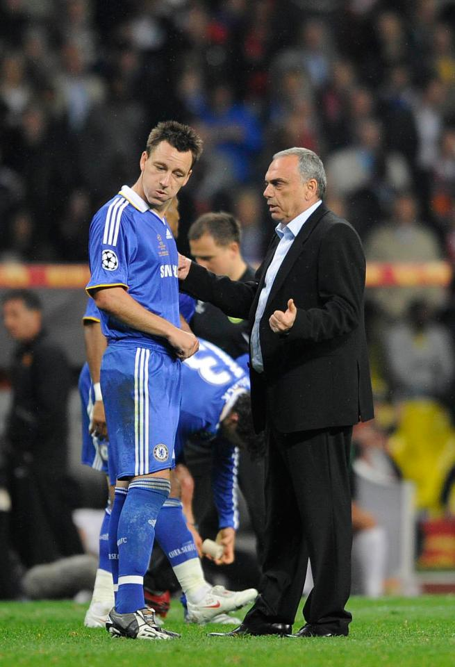 Avram Grant scored 31 points after taking the reins from Jose Mourinho after six Premier League games