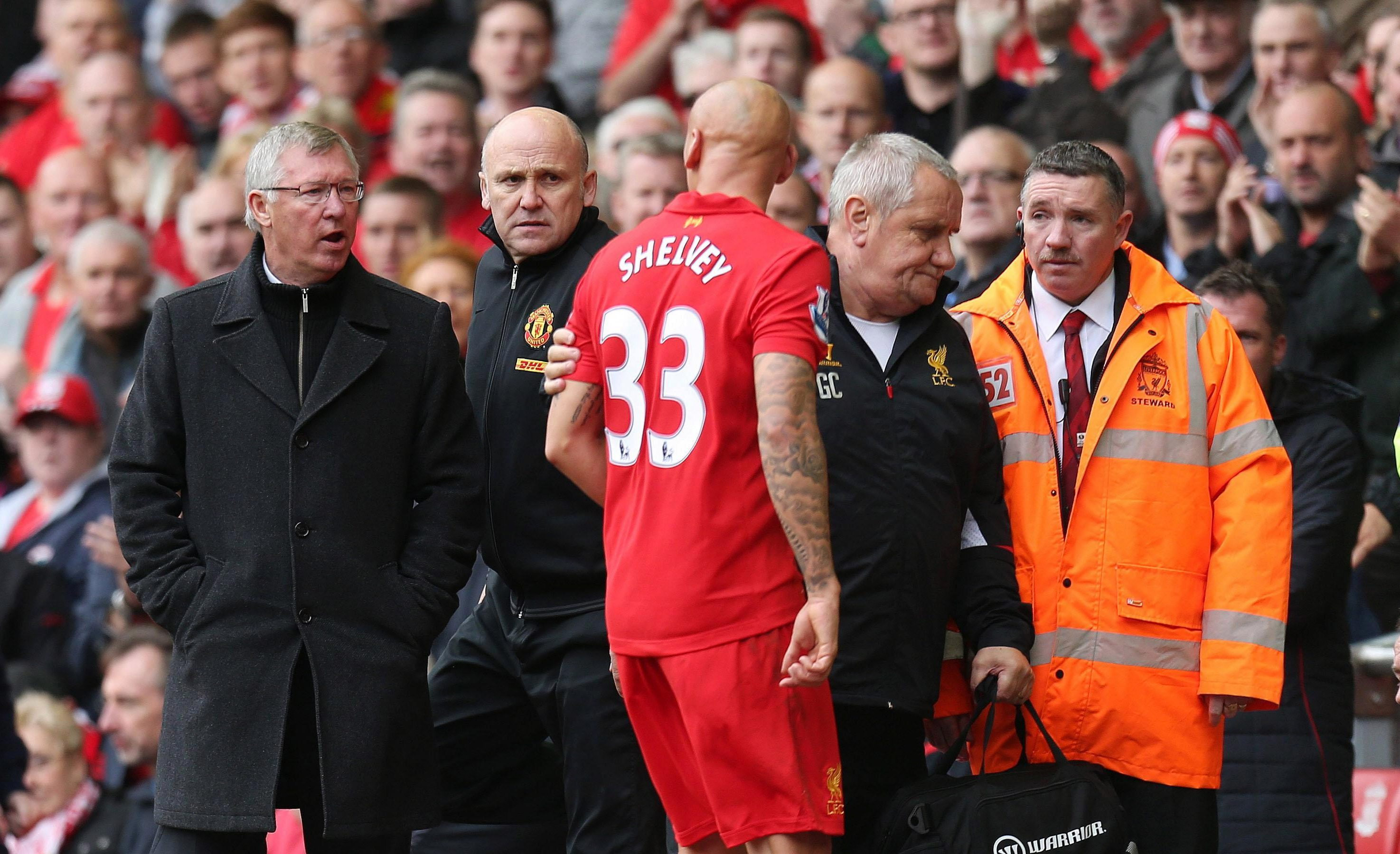Sir Alex Ferguson loved getting the better of Liverpool, especially at Anfield