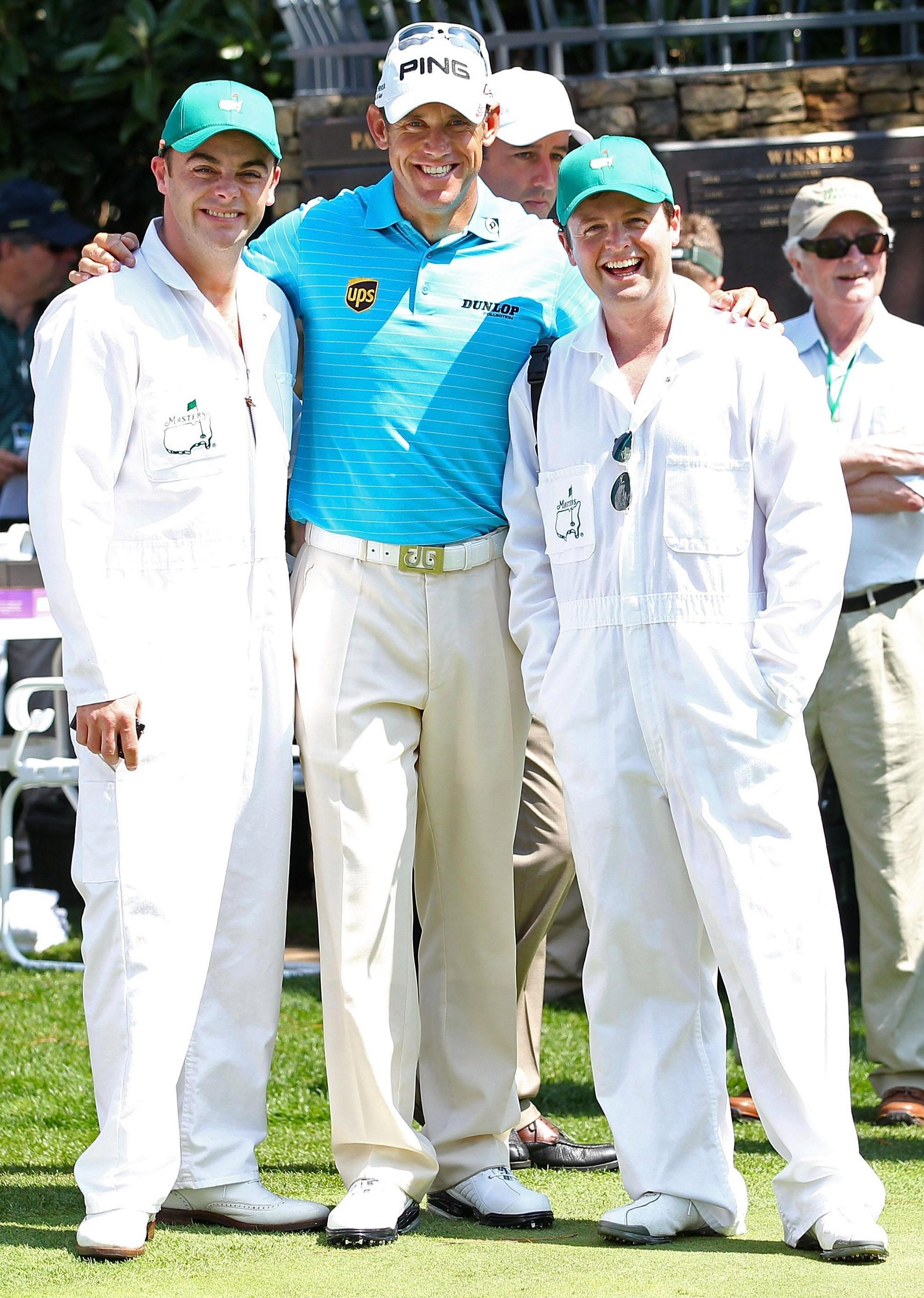 The celeb double act are huge golf nuts and hang out here with England's former world No 1 Lee Westwood