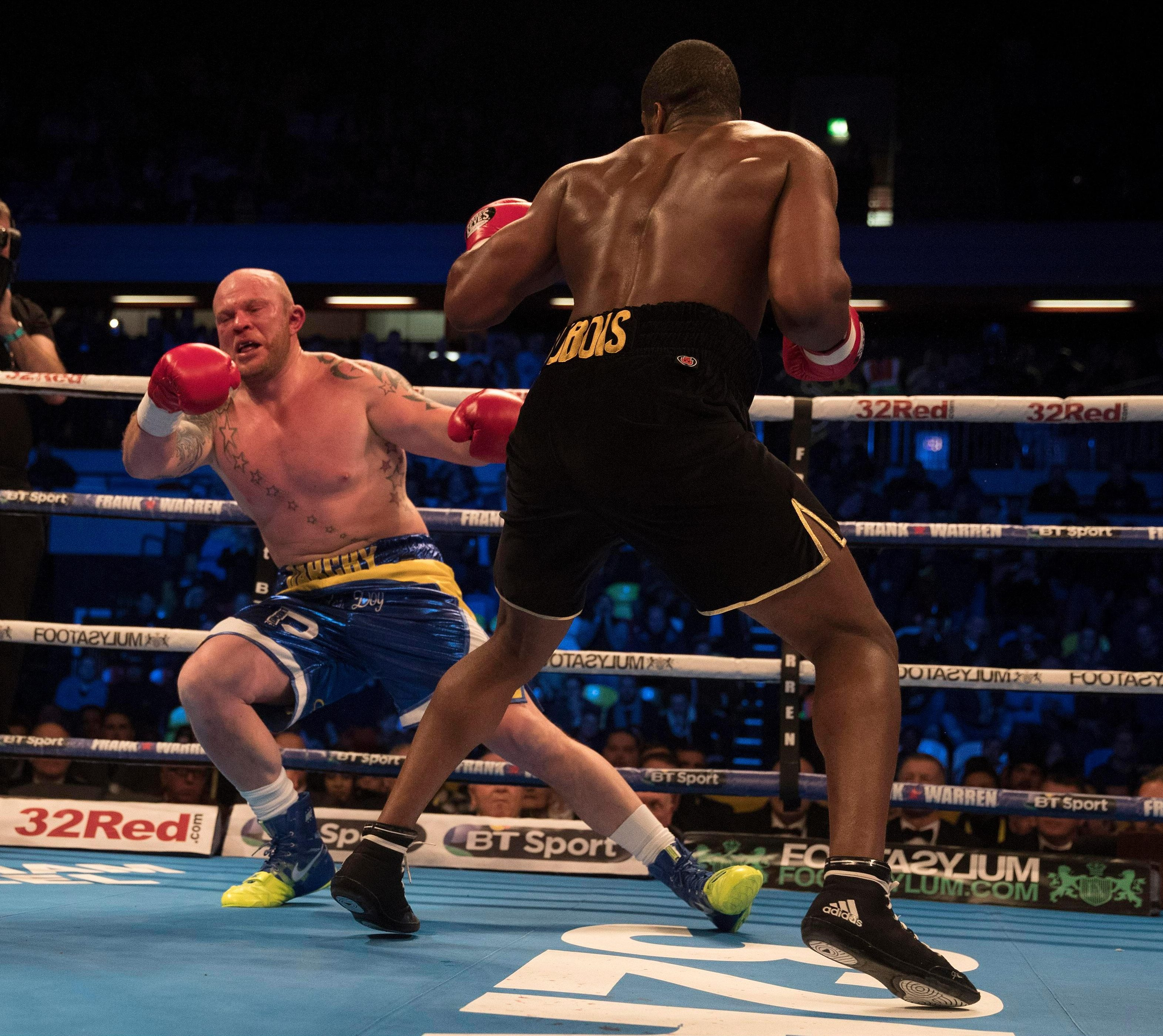 Daniel Dubois has the potential to add to the exciting array of British heavyweight talent on top of the world