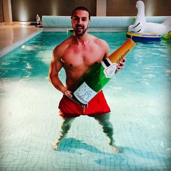The Take Me Out host won a battle with neighbours to build a swimming pool and gym extension