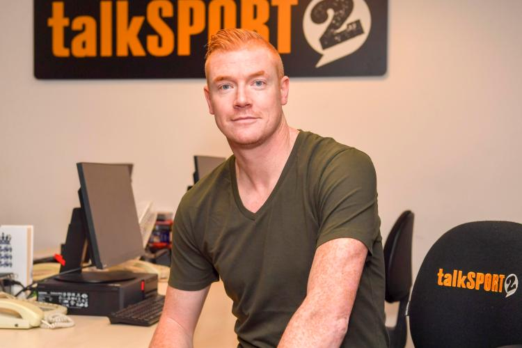 The ex-Premier League star is now starting out on a career working in the media