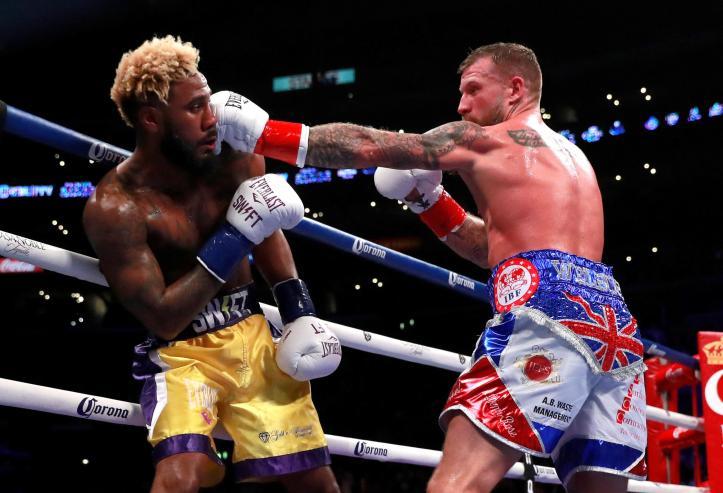 Brit Jason Welborn battles in brave defeat after being KO'd in ...
