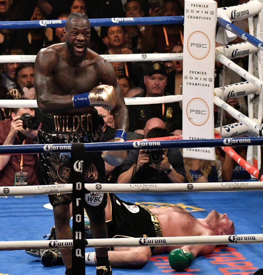 Wilder thought he had secured the win after putting Fury down in the final round