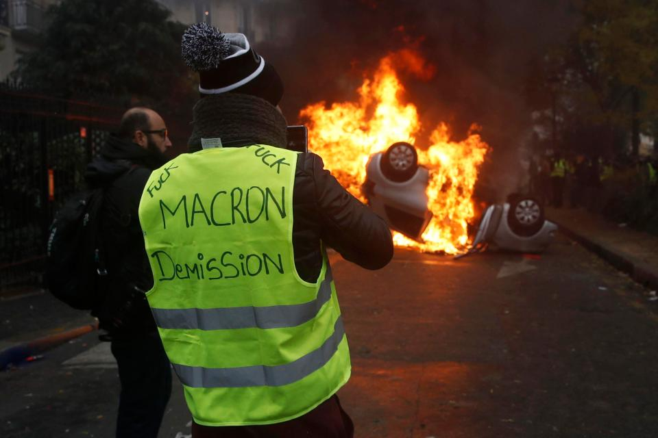 Who are the leaders of the gilets jaunes in France?