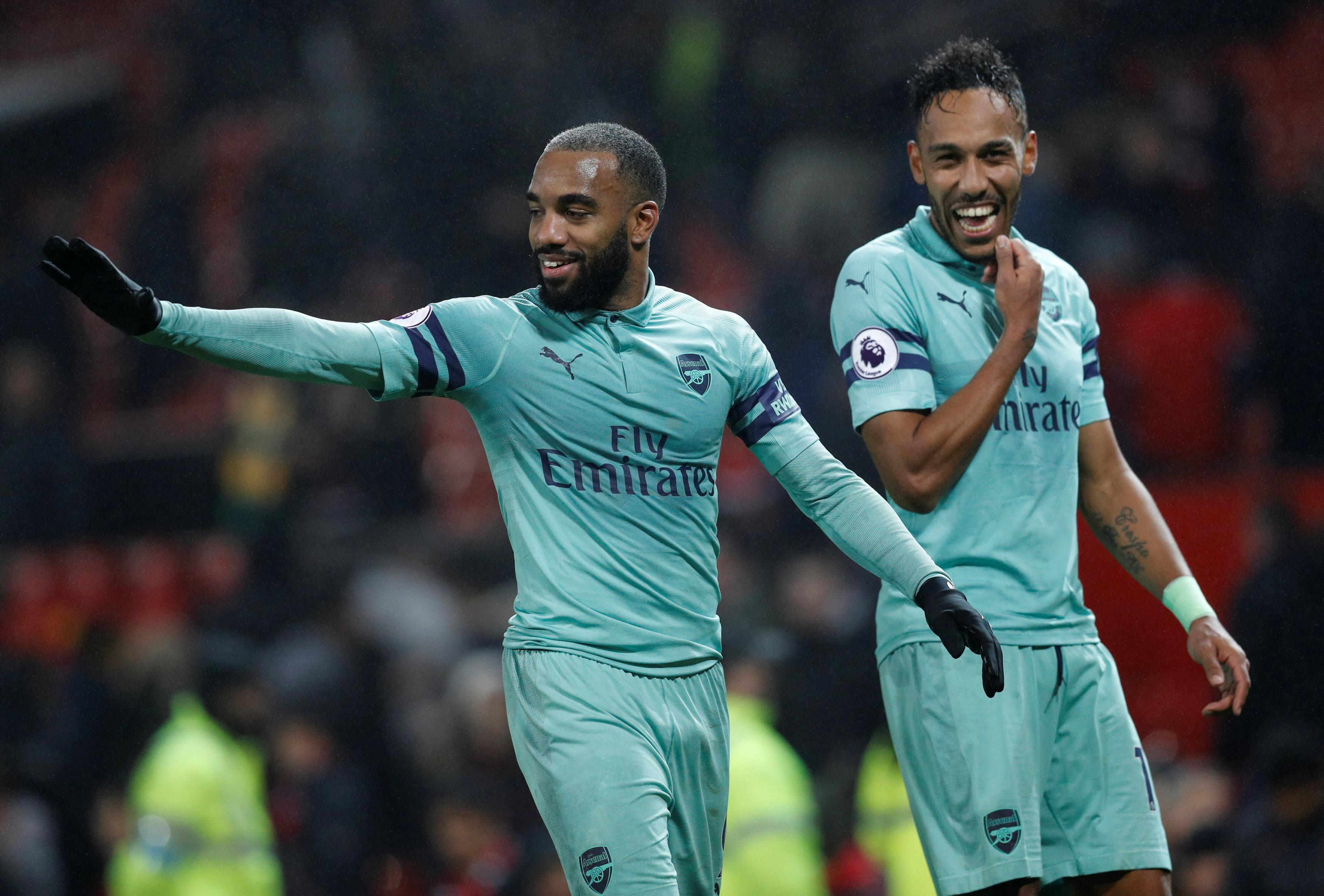 Morgan singled out Alexandre Lacazette and Pierre-Emerick Aubameyang for particular criticism