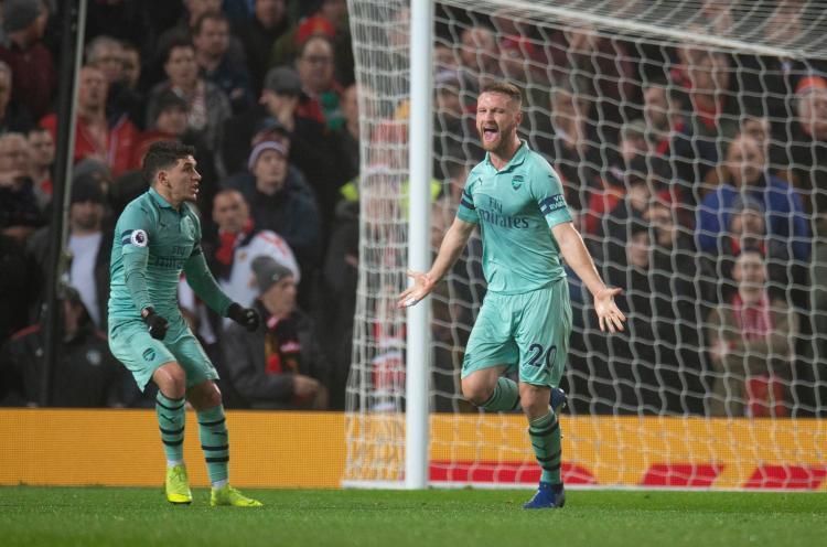 Arsenal maintained their unbeaten run last night, but have real first-half issues