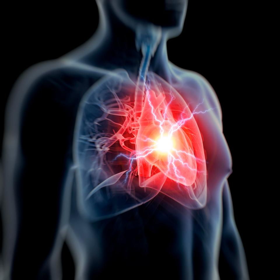 If the injected fat somehow makes it's way into the blood stream it can travel through the heart and cause cardiac arrest