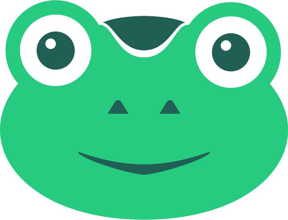 Gab's logo appears to mimic far-right meme Pepe but Torba says it represents the Biblical plague of frogs swarming over Silicon Valley