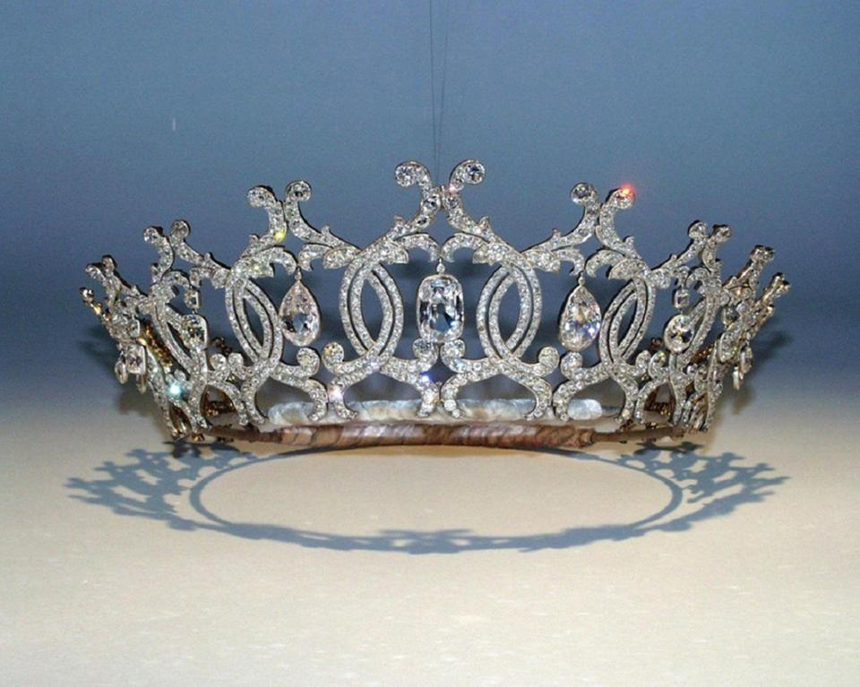 "The diamond encrusted ""Portland Tiara"" was stolen in the raid after a gang of burglars broke into an historic estate."