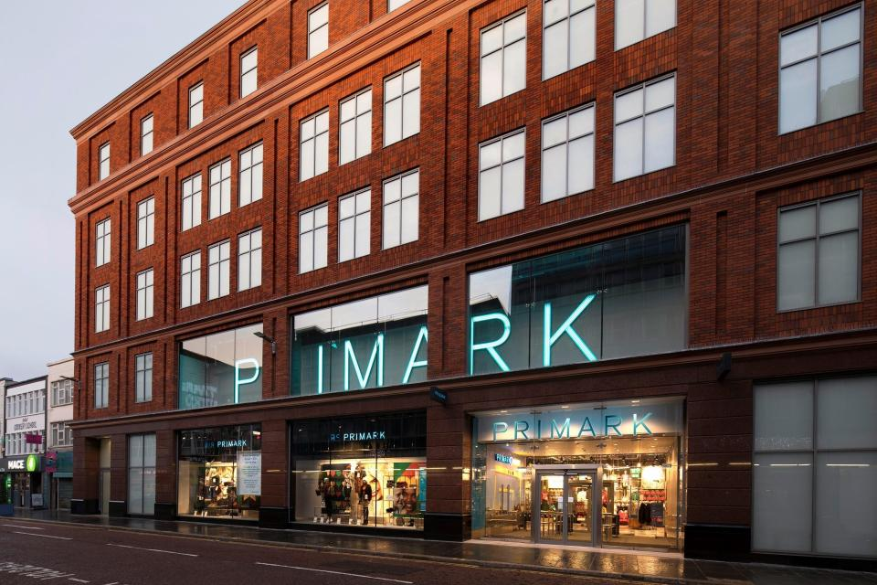 The new Primark store on Castle Street